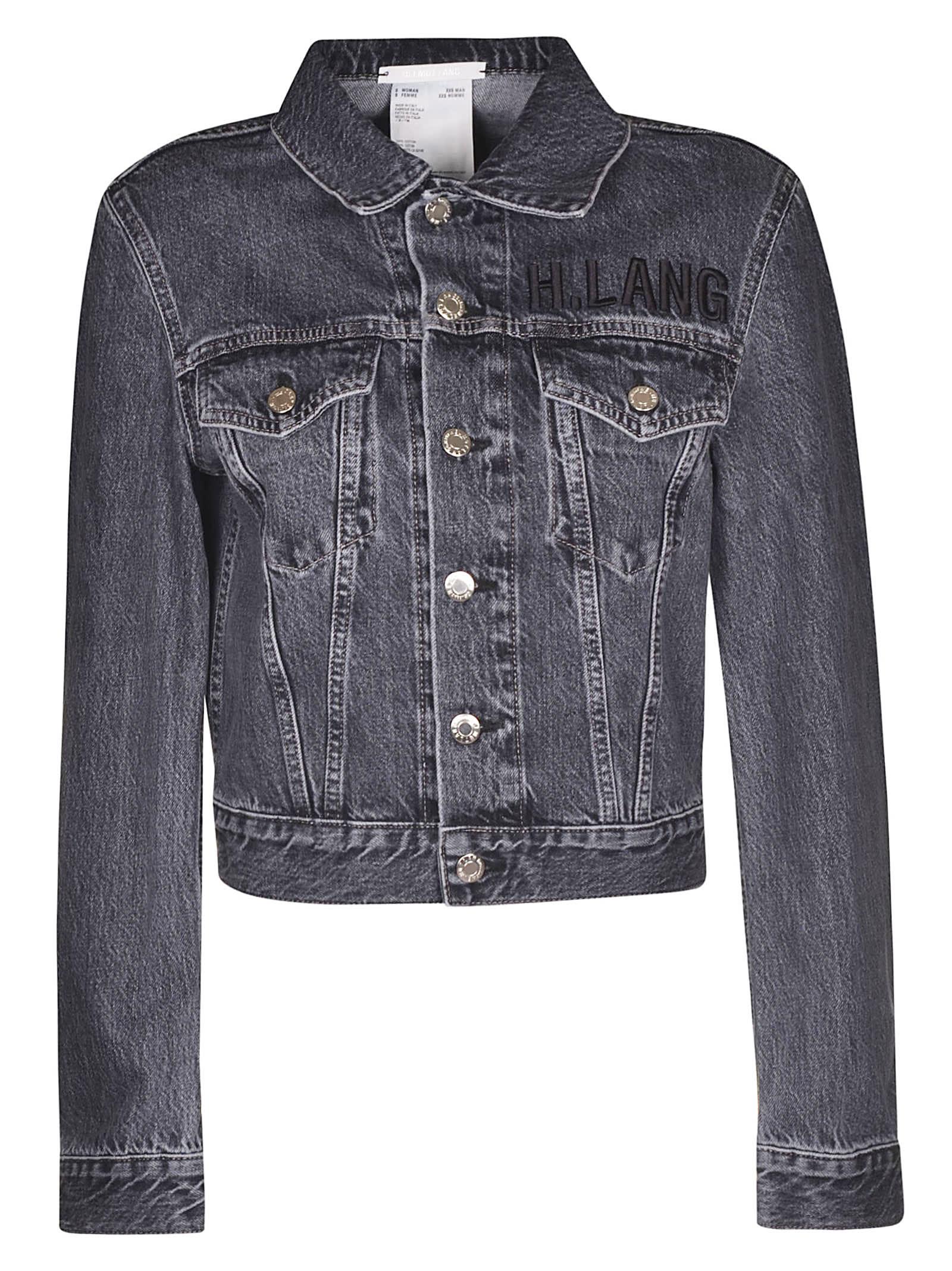 Helmut Lang Denim Cropped Jacket