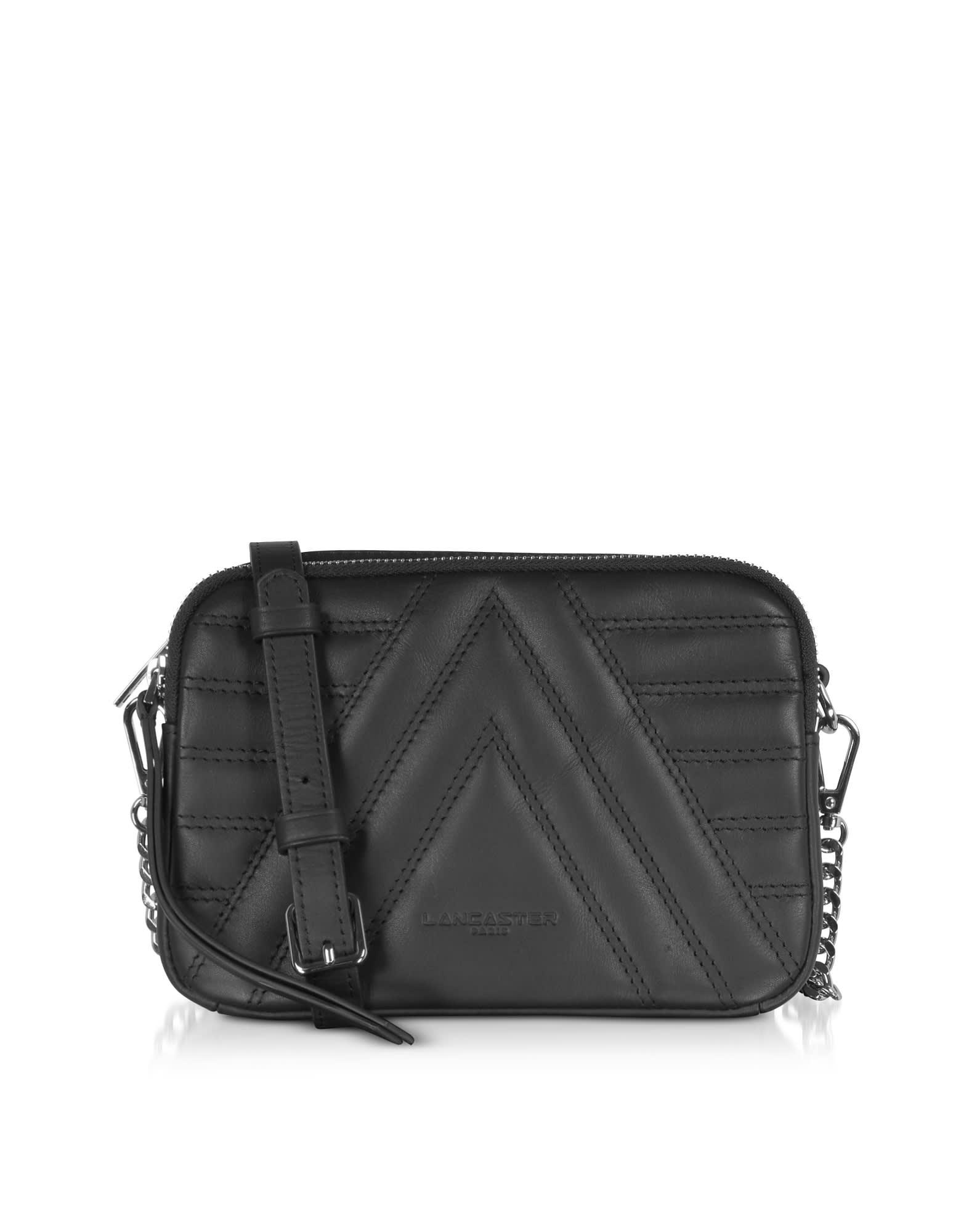 Lancaster Paris Parisienne Matelassé Quilted Leather Shoulder/belt Bag