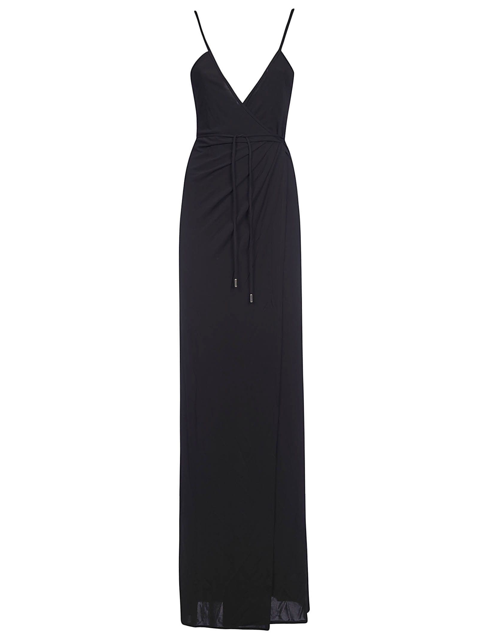 Buy Dsquared2 Laced Waist Maxi Dress online, shop Dsquared2 with free shipping