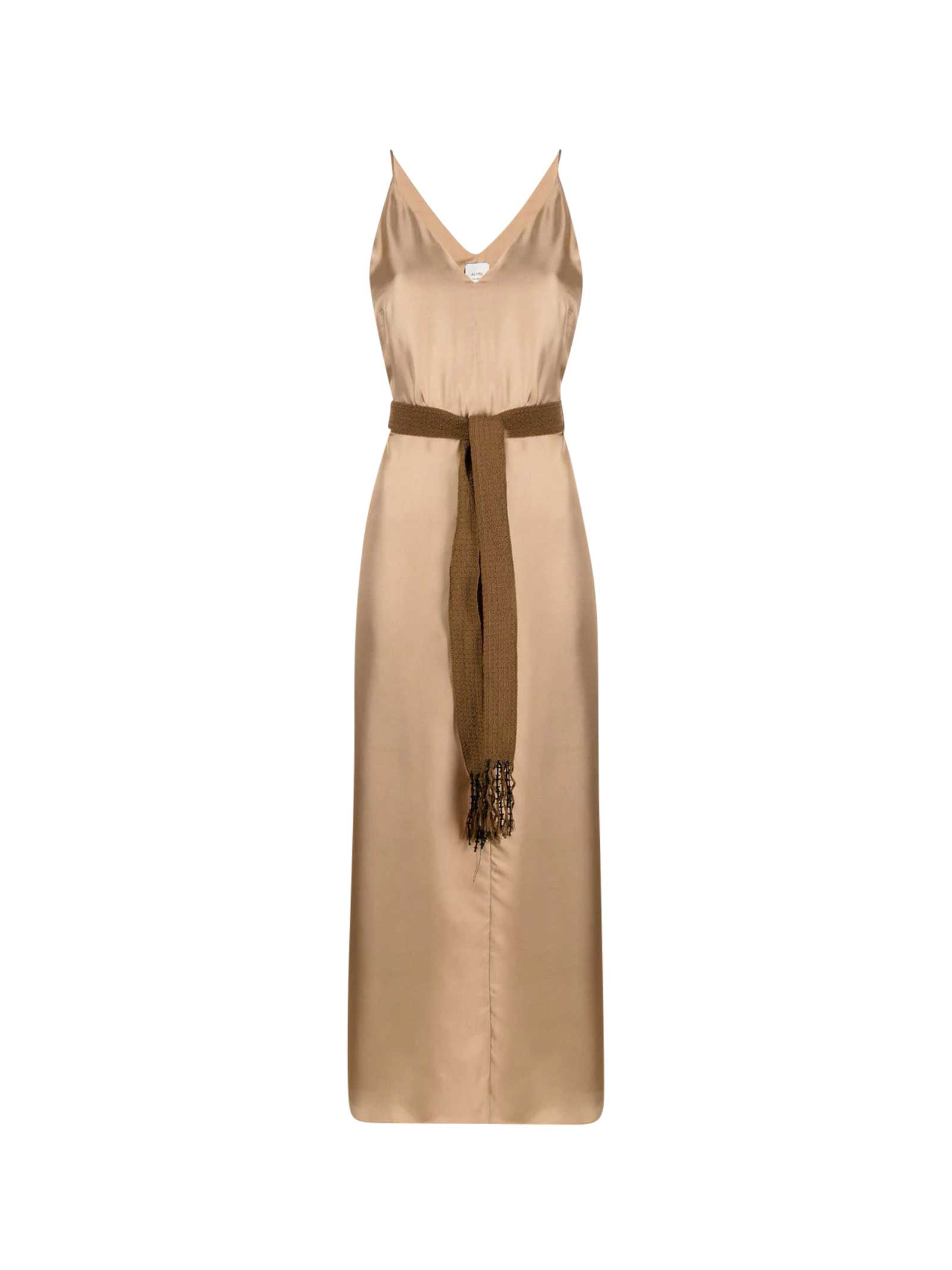 Alysi Dresses BELTED DRESS