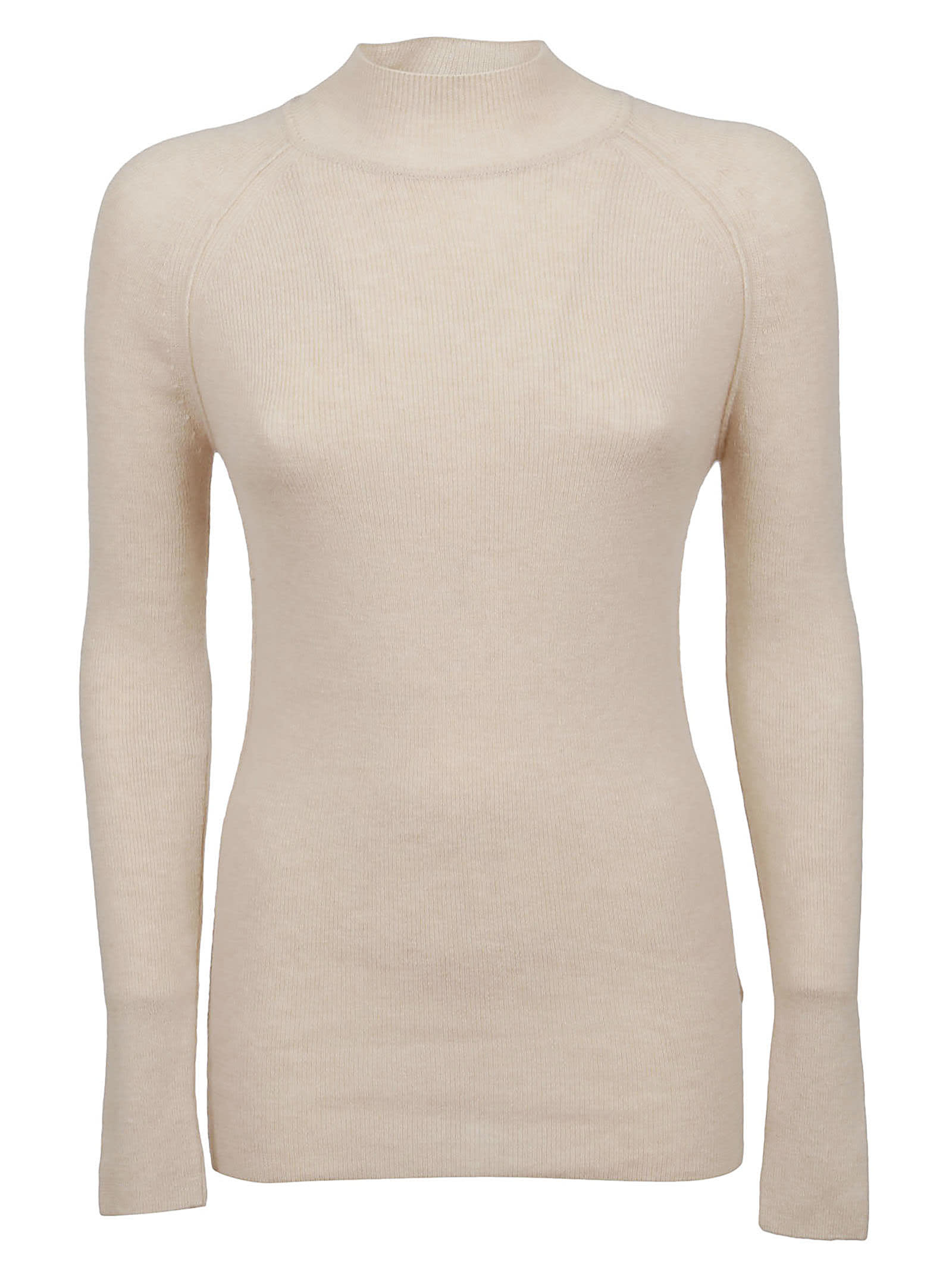 Forte Forte Ribbed Cashmere Wool Turtleneck Sweater