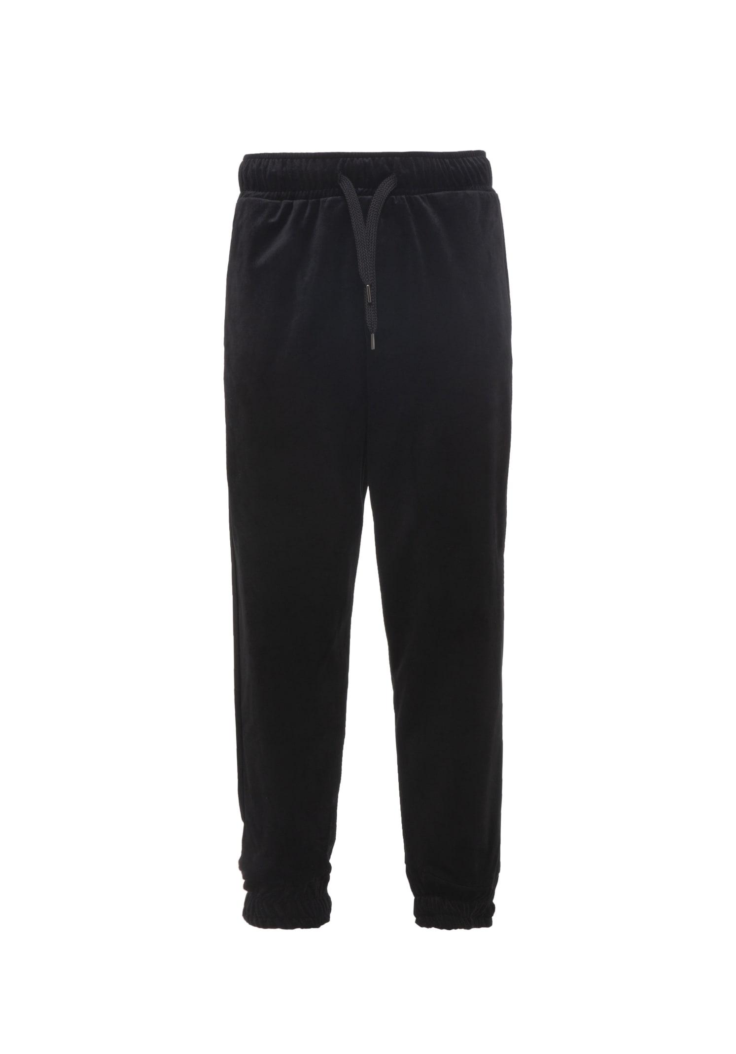 Pants Velour Black