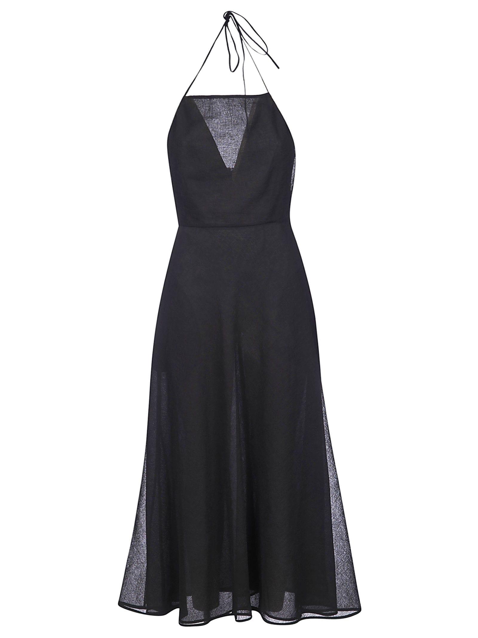 Buy Jil Sander Sleeveless Flared Dress online, shop Jil Sander with free shipping