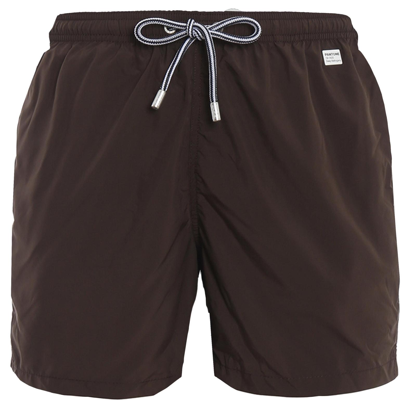 Brown Ight Fabric Swim Shorts - Pantone® Special Edition