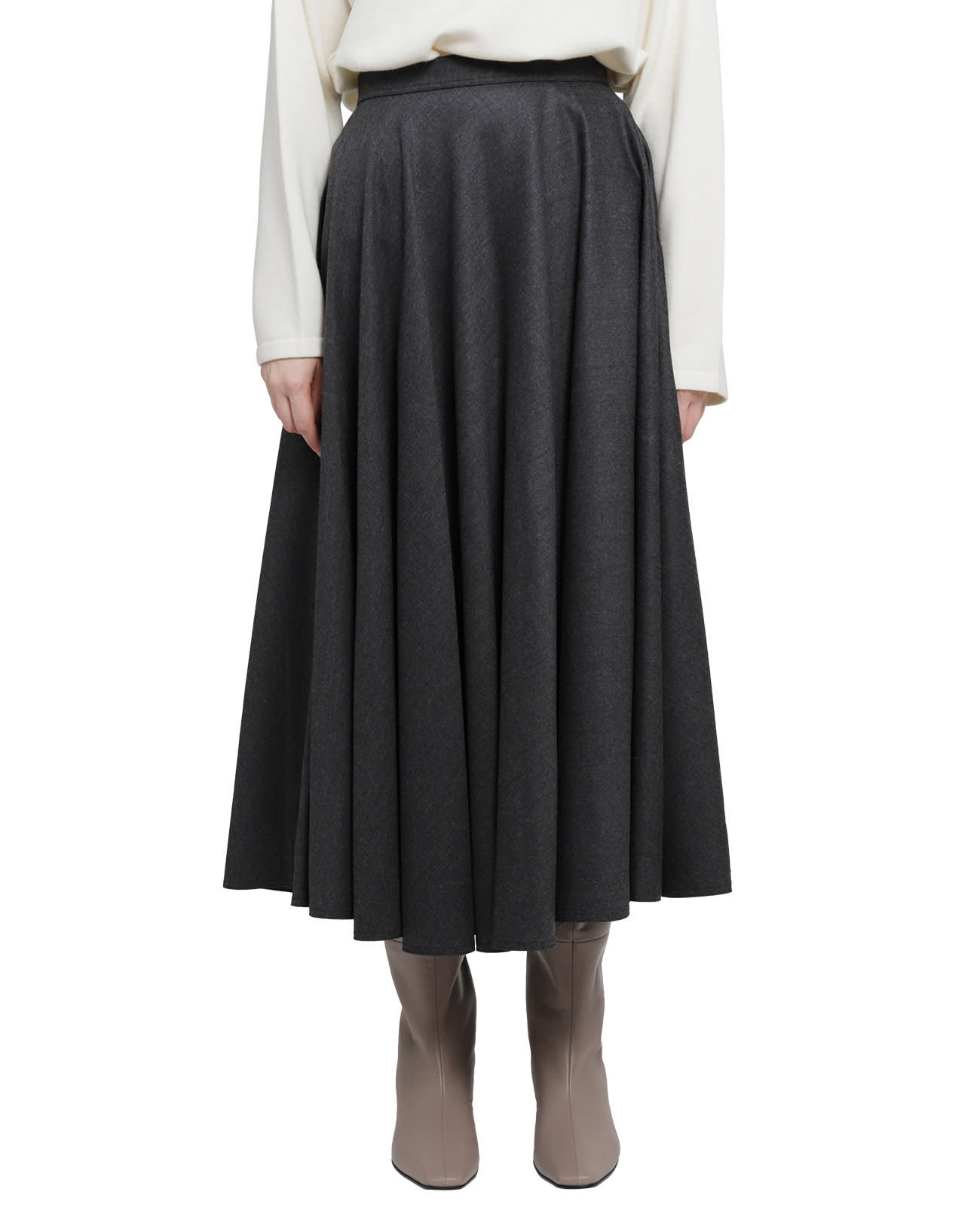 Portofino Grey Skirt