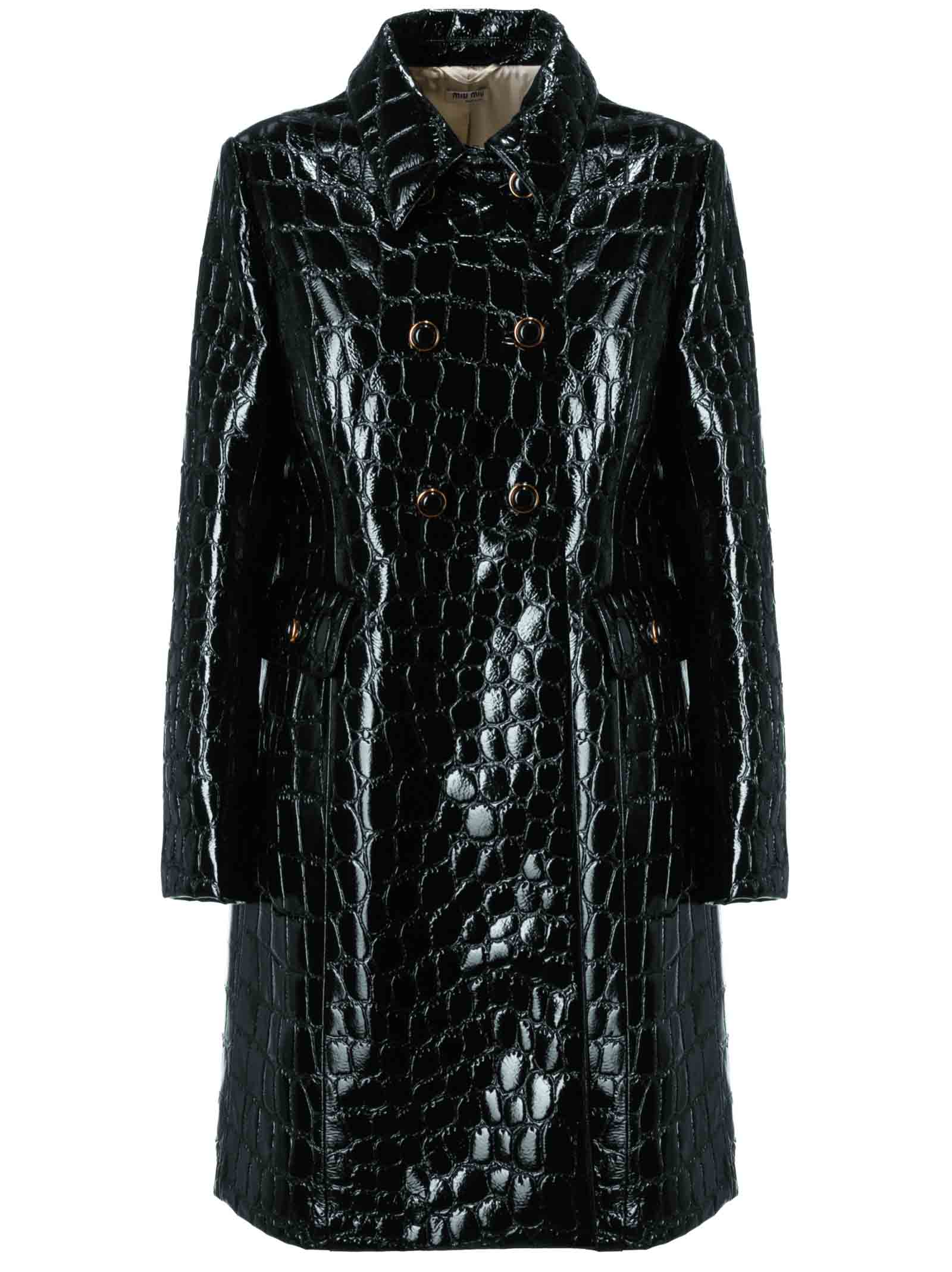 Miu Miu Double Breasted Coat