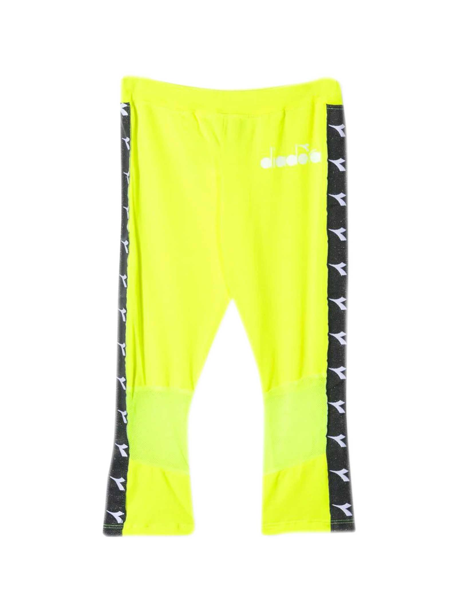 Fluo Yellow Trousers