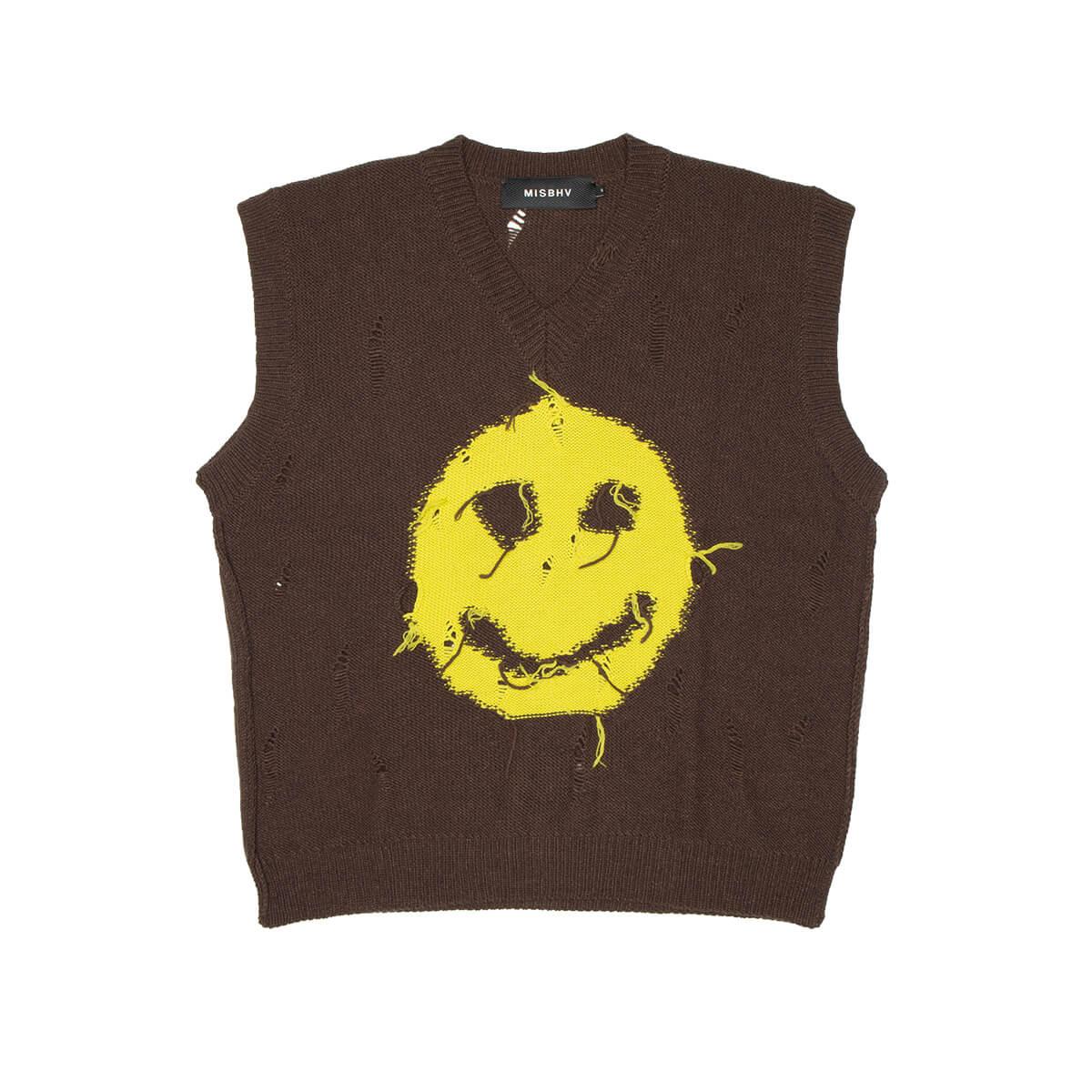 MISBHV Smiley Sleeveless Sweater