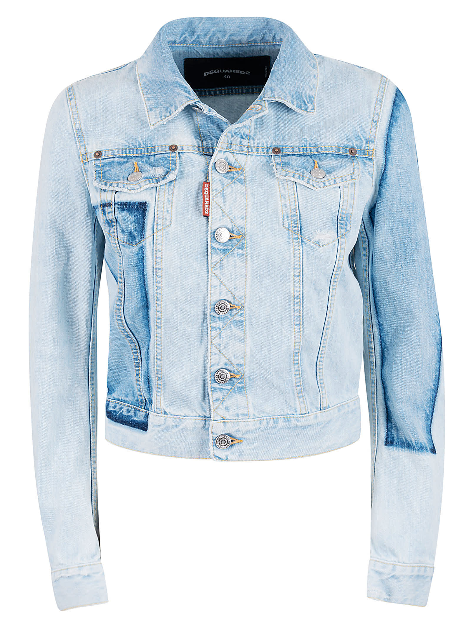 Dsquared2 Buttoned Denim Jacket