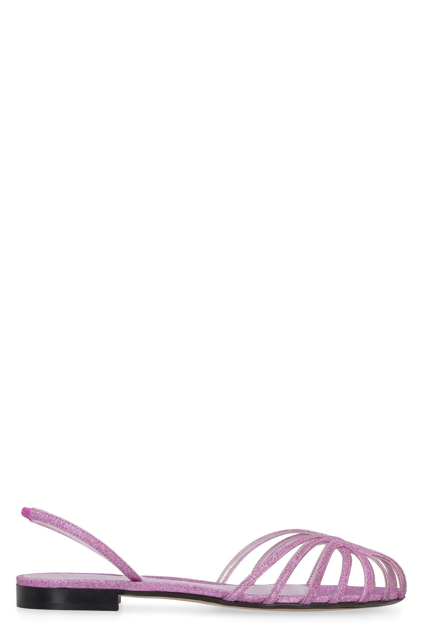 Lia Glitter Sandals