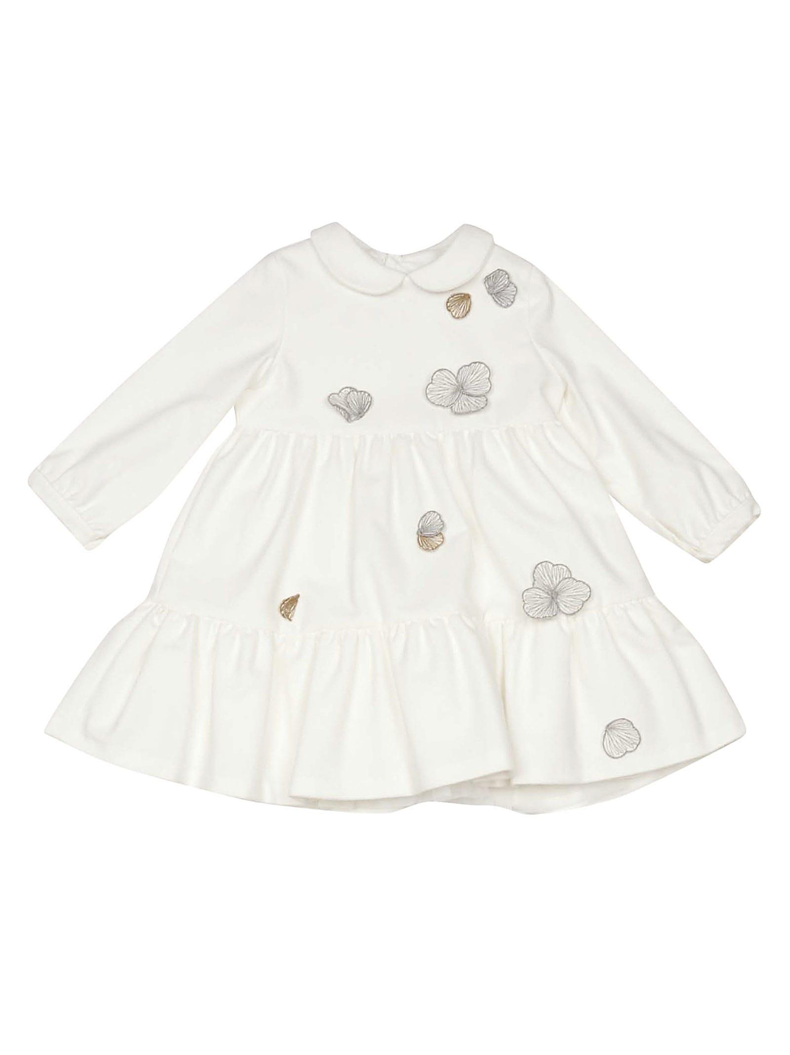 Il Gufo Embroidered Dress