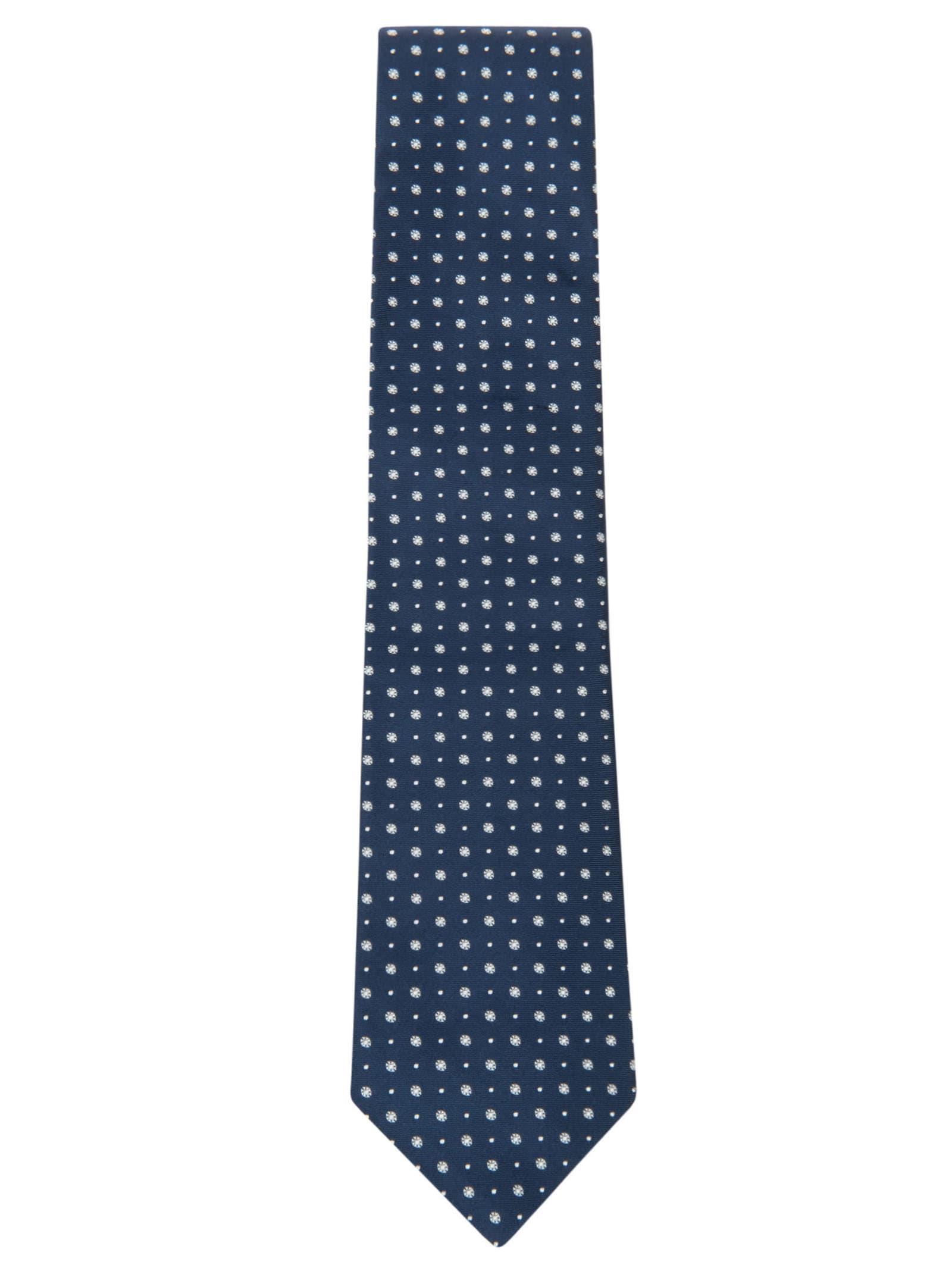 Motif Print Neck Tie