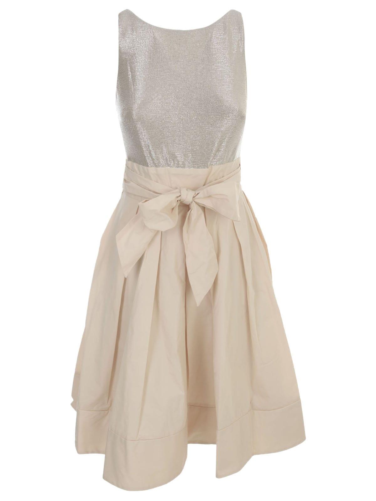 Buy Ralph Lauren Yuko Dress W/s Bimaterial online, shop Ralph Lauren with free shipping