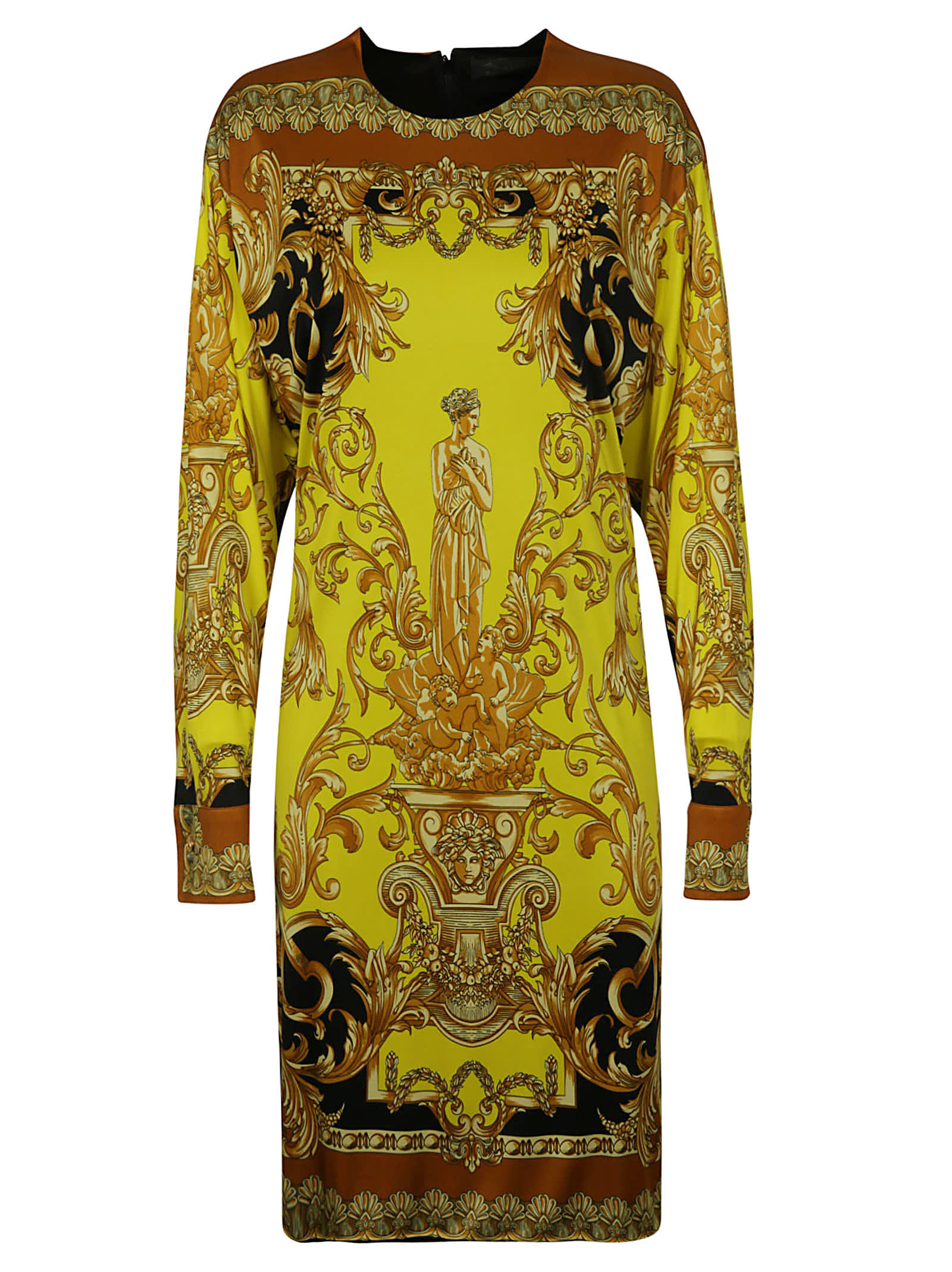 Buy Versace Printed Dress online, shop Versace with free shipping