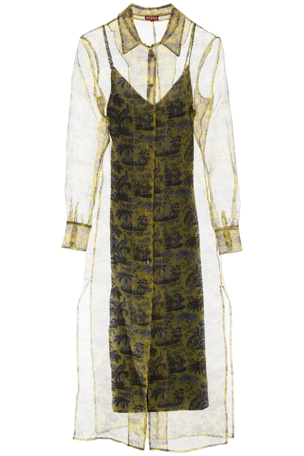 Buy STAUD Frank Dress online, shop STAUD with free shipping