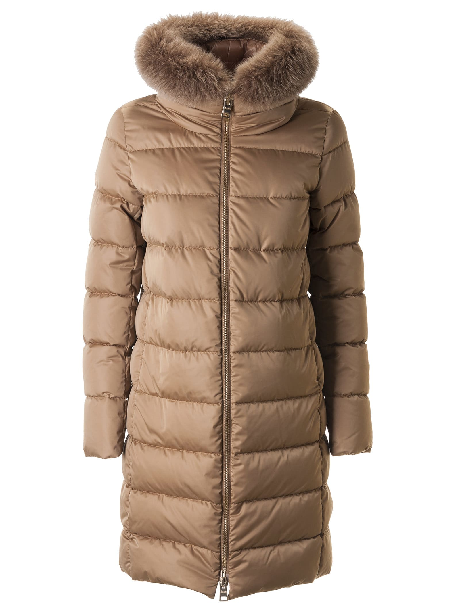Herno Furred Collar Classic Padded Parka