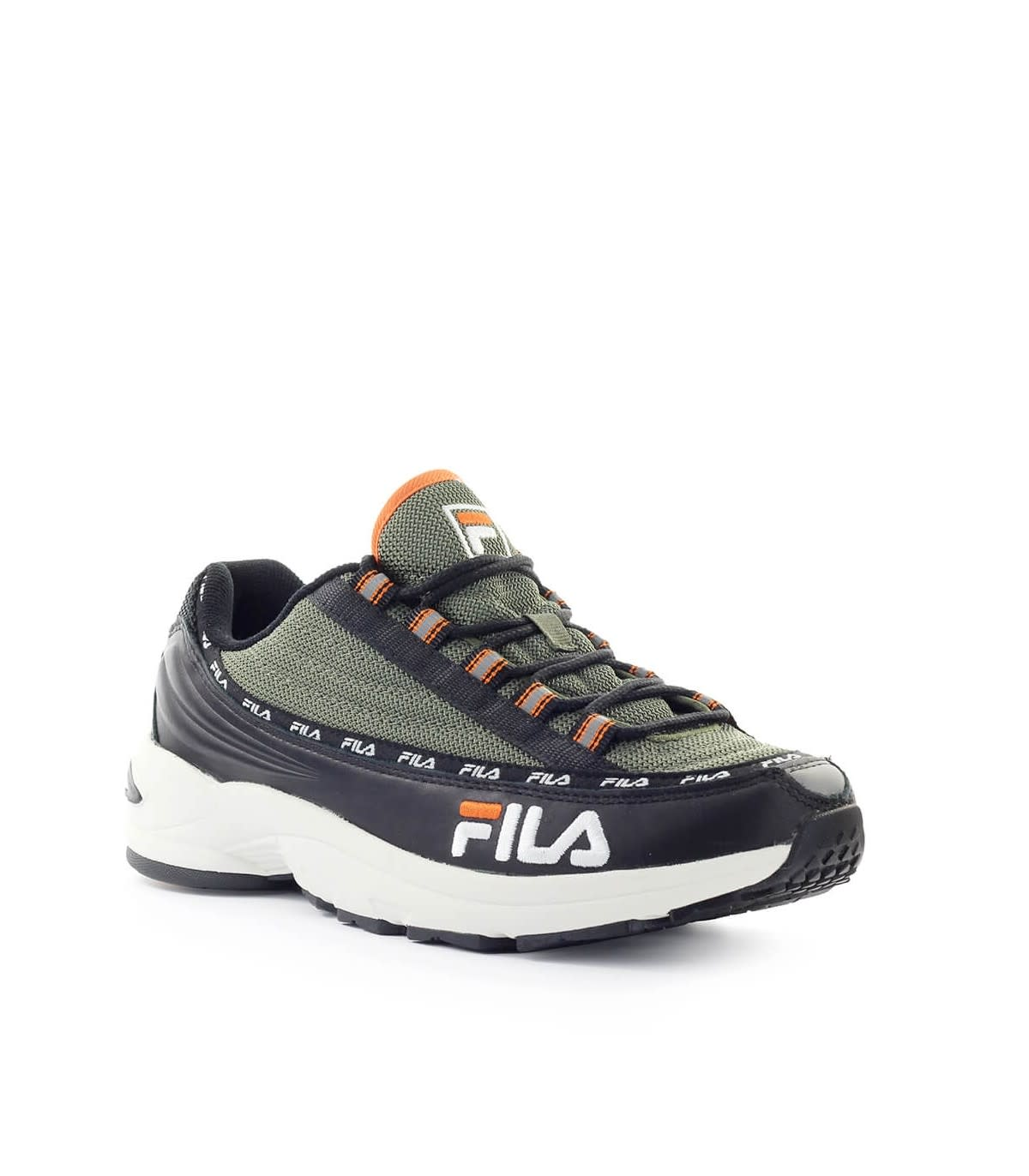 Fila Fila Dragster97 Black Olive Green Sneaker Black