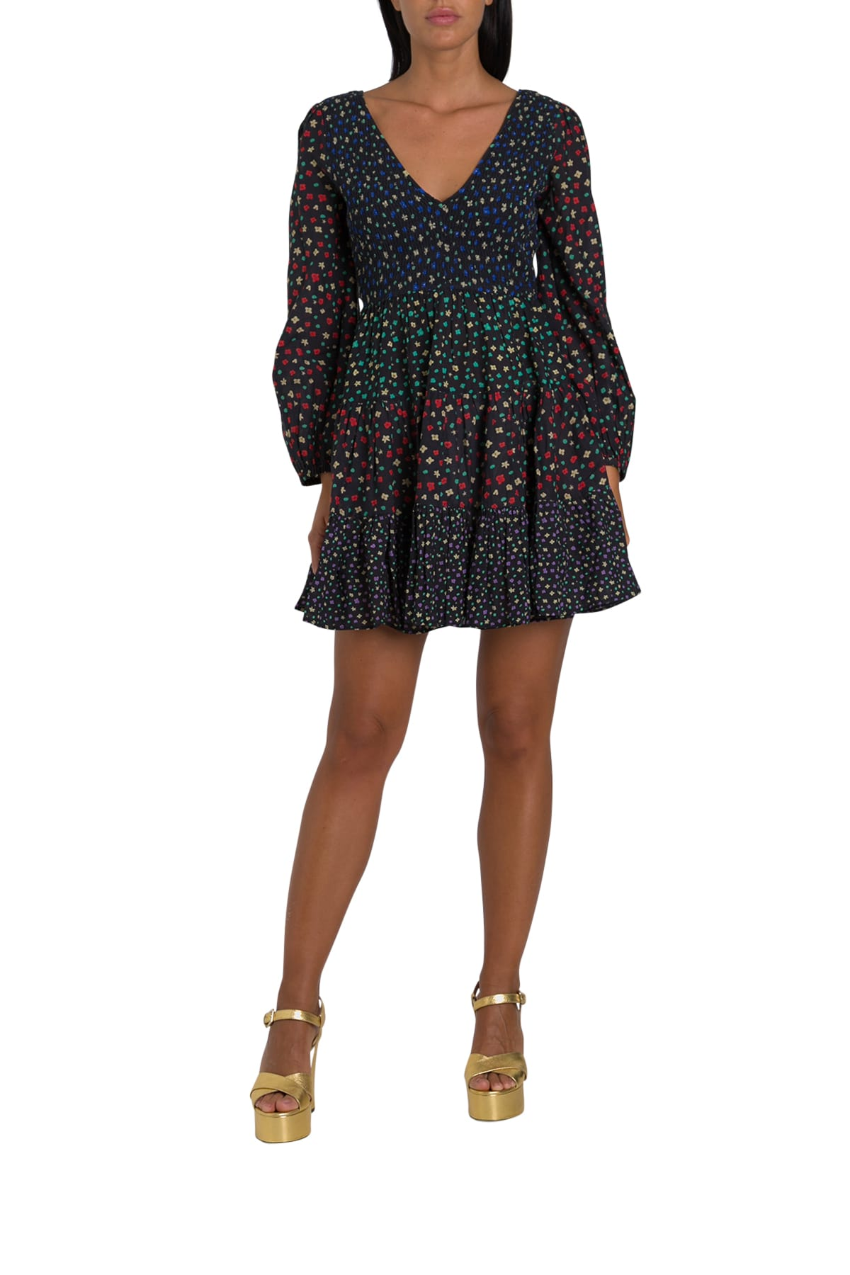 Buy RIXO Floral Mini Dress online, shop RIXO with free shipping