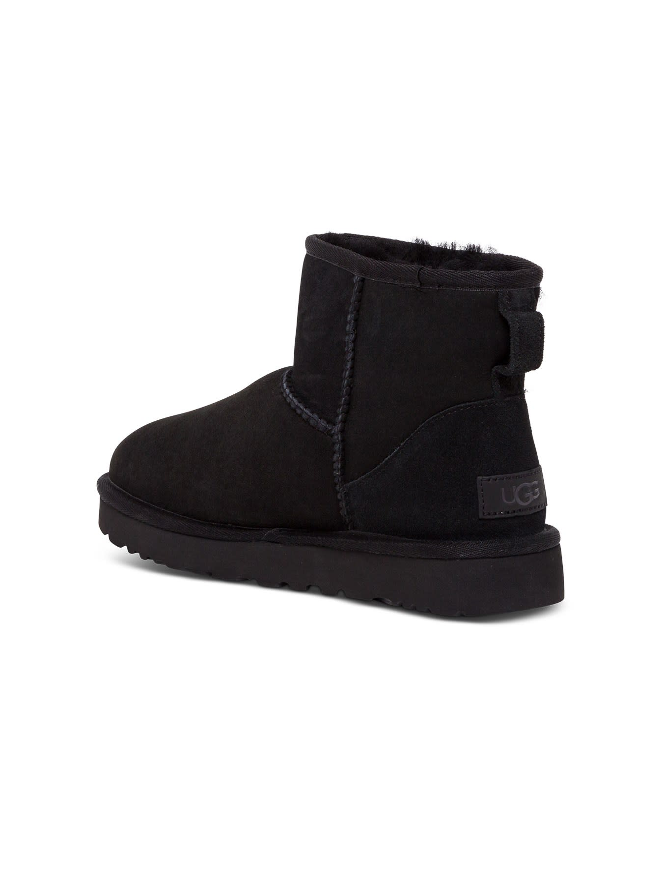 Buy UGG Classic Low Boots In Suede Leather online, shop UGG shoes with free shipping