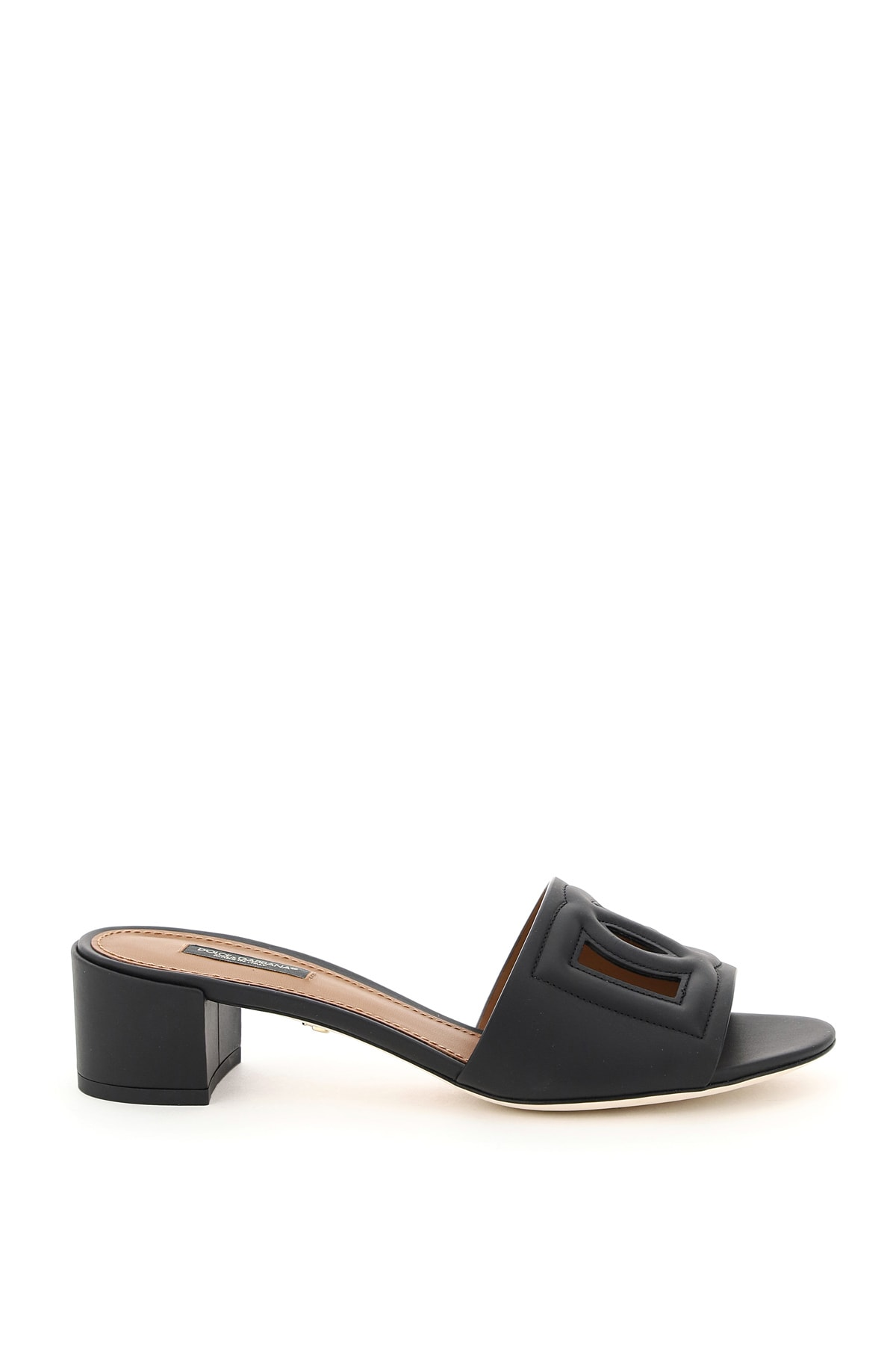 Buy Dolce & Gabbana Crystal Mules Dg Millennials online, shop Dolce & Gabbana shoes with free shipping