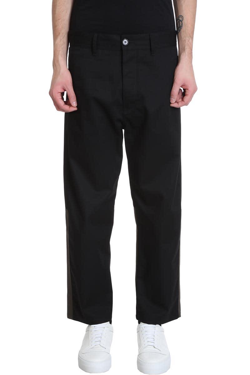 Pants In Black Cotton