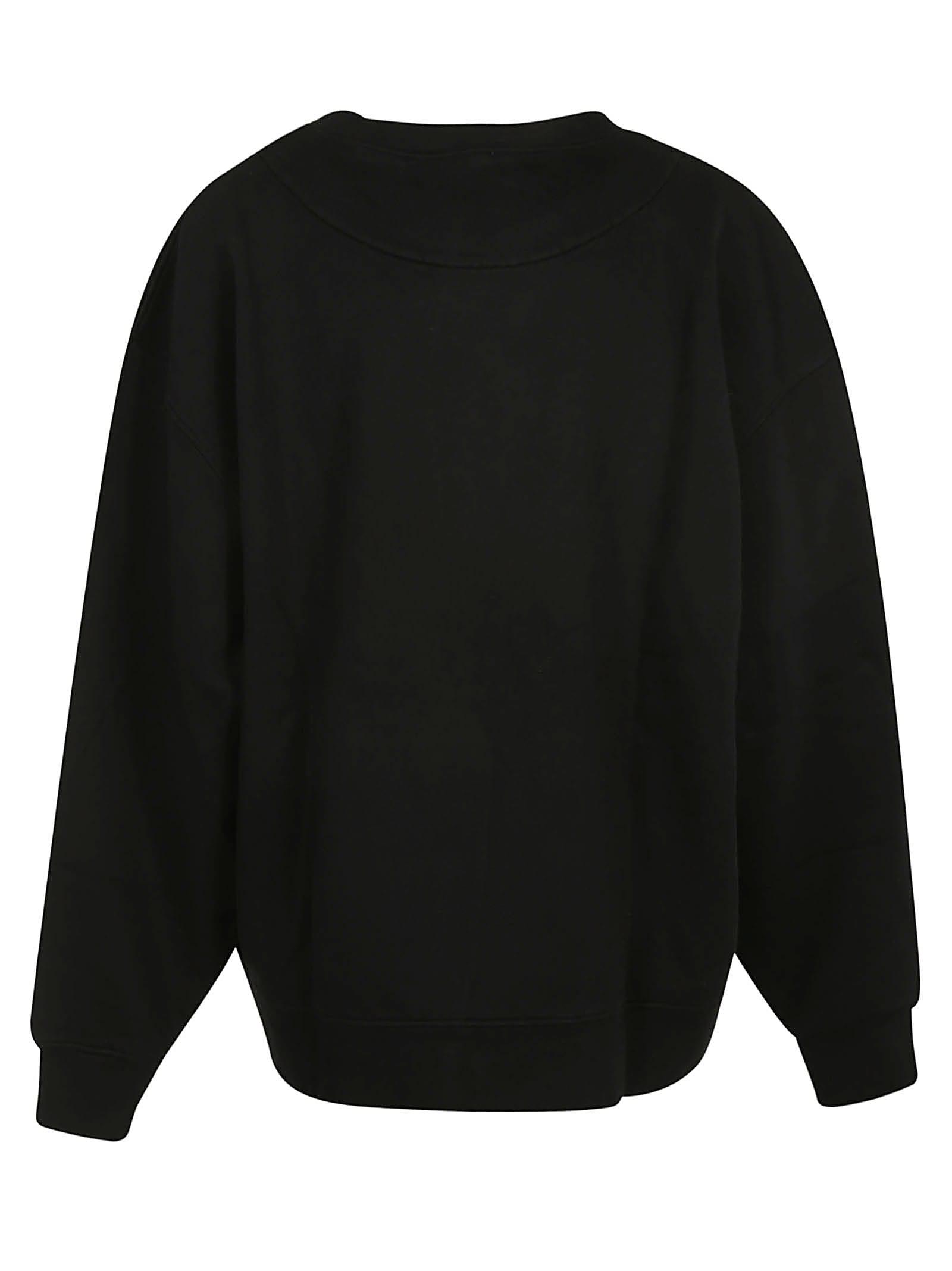 Best price on the market at italist | Acne Studios Acne Studios Front Logo Print Sweatshirt