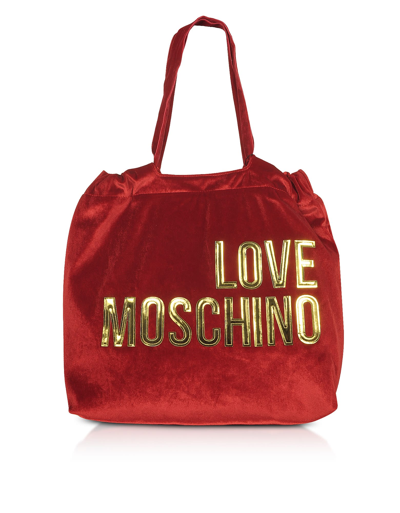 Love Moschino SIGNATURE VELVET TOTE BAG
