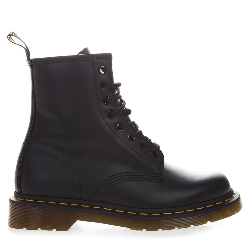 Dr. Martens Black Color Leather Army Boots