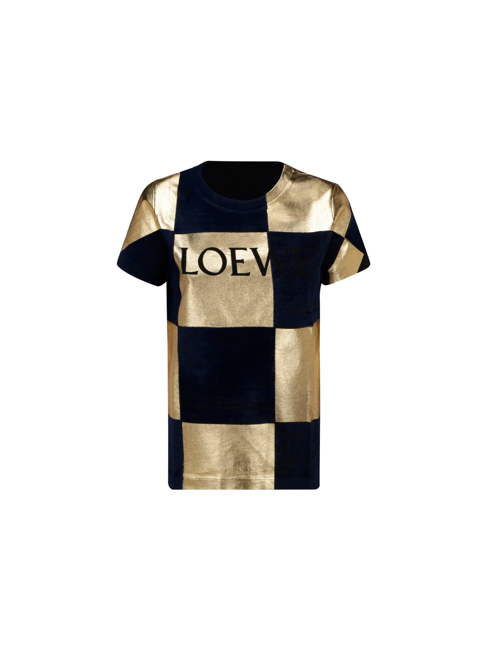 Loewe Cottons DAMIER T-SHIRT