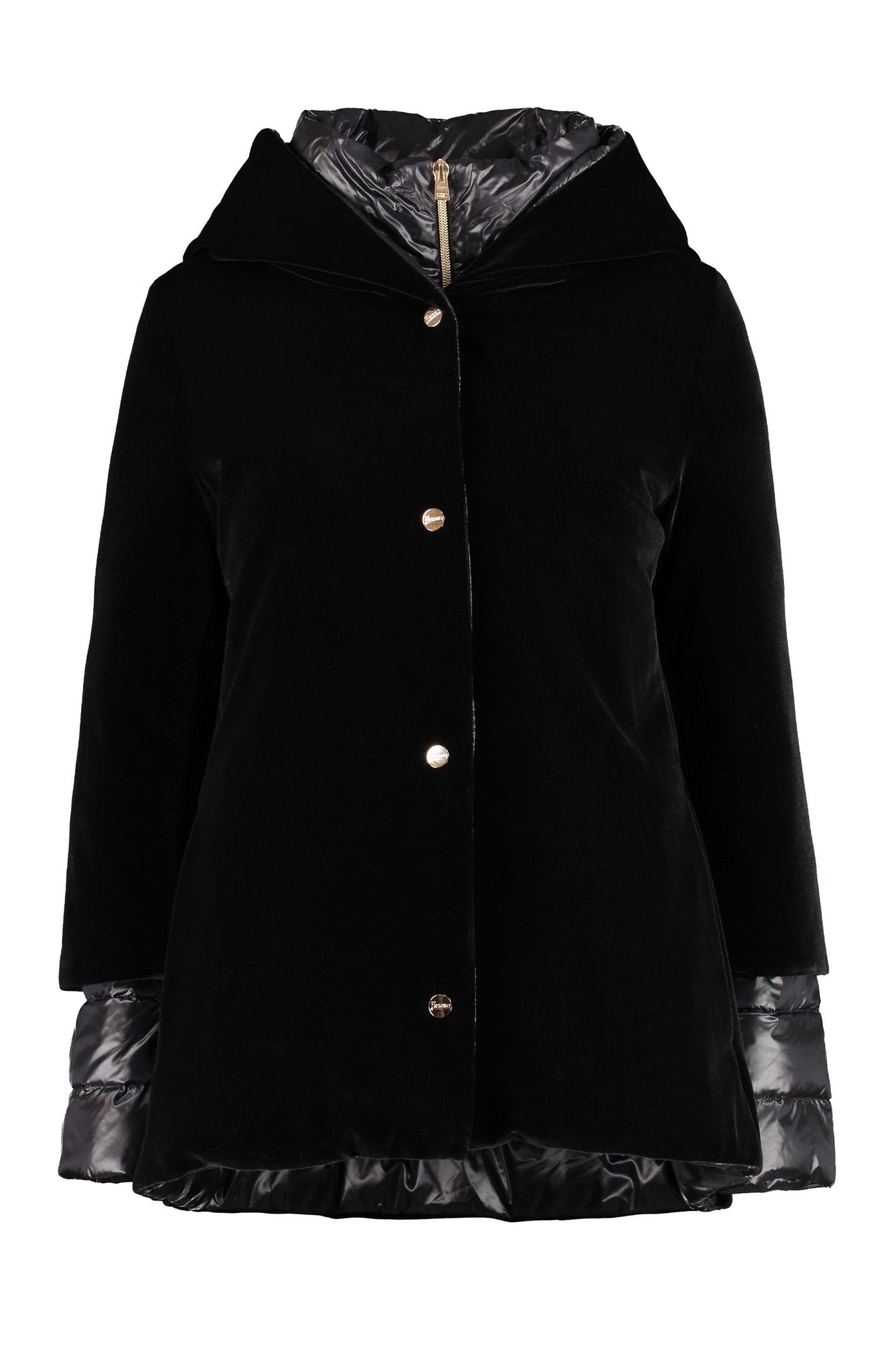 Herno Reversible Hooded Down Jacket