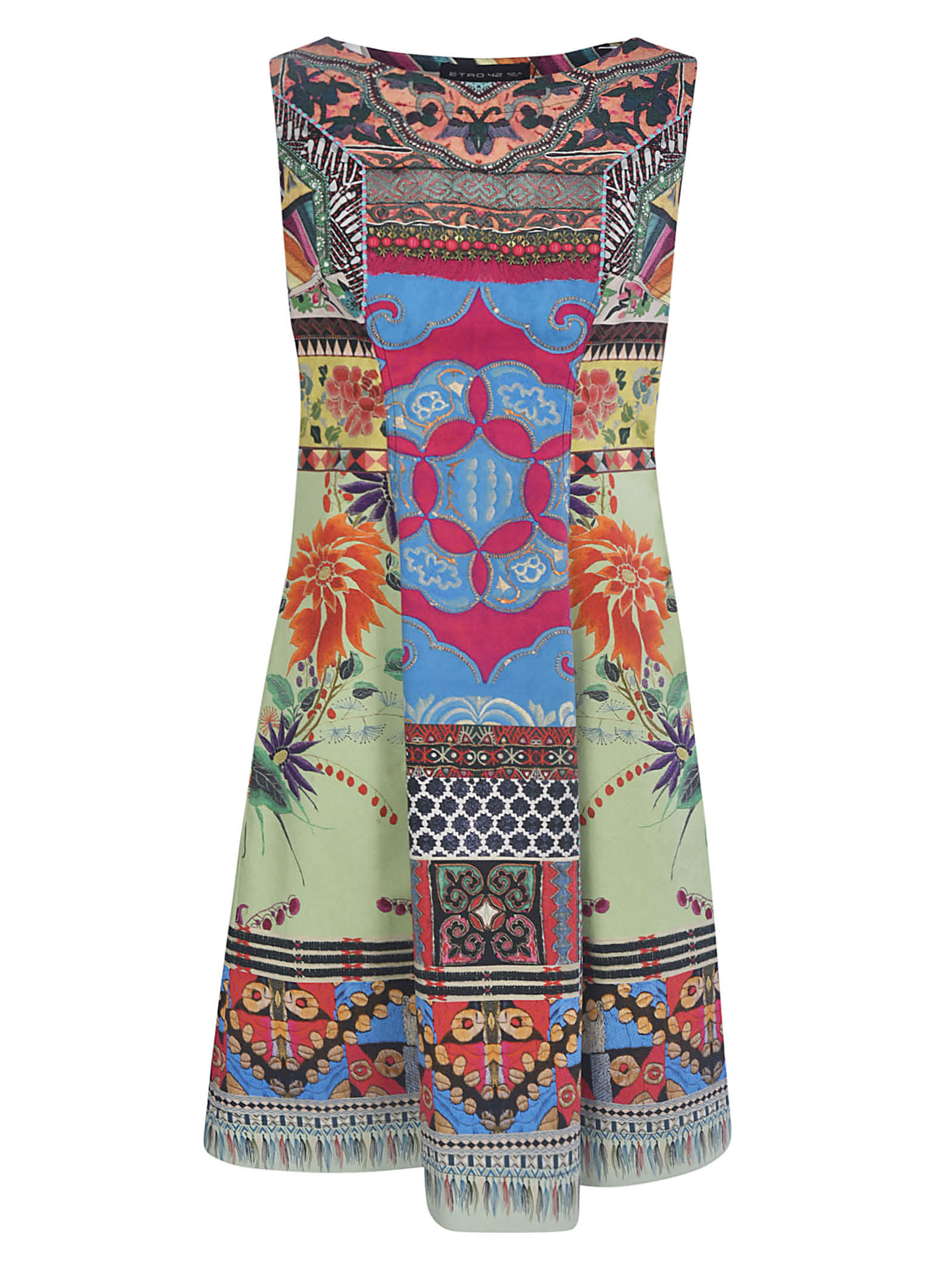 Buy Etro Fantasia Maxi Dress online, shop Etro with free shipping