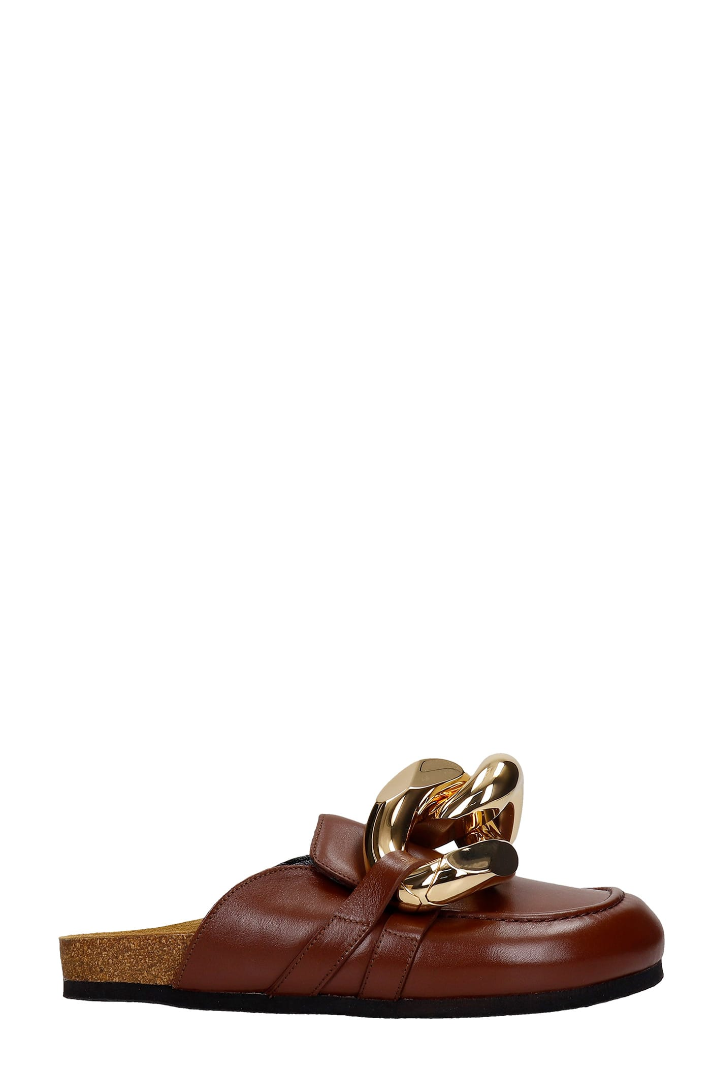 Jw Anderson Suedes FLATS IN BROWN LEATHER