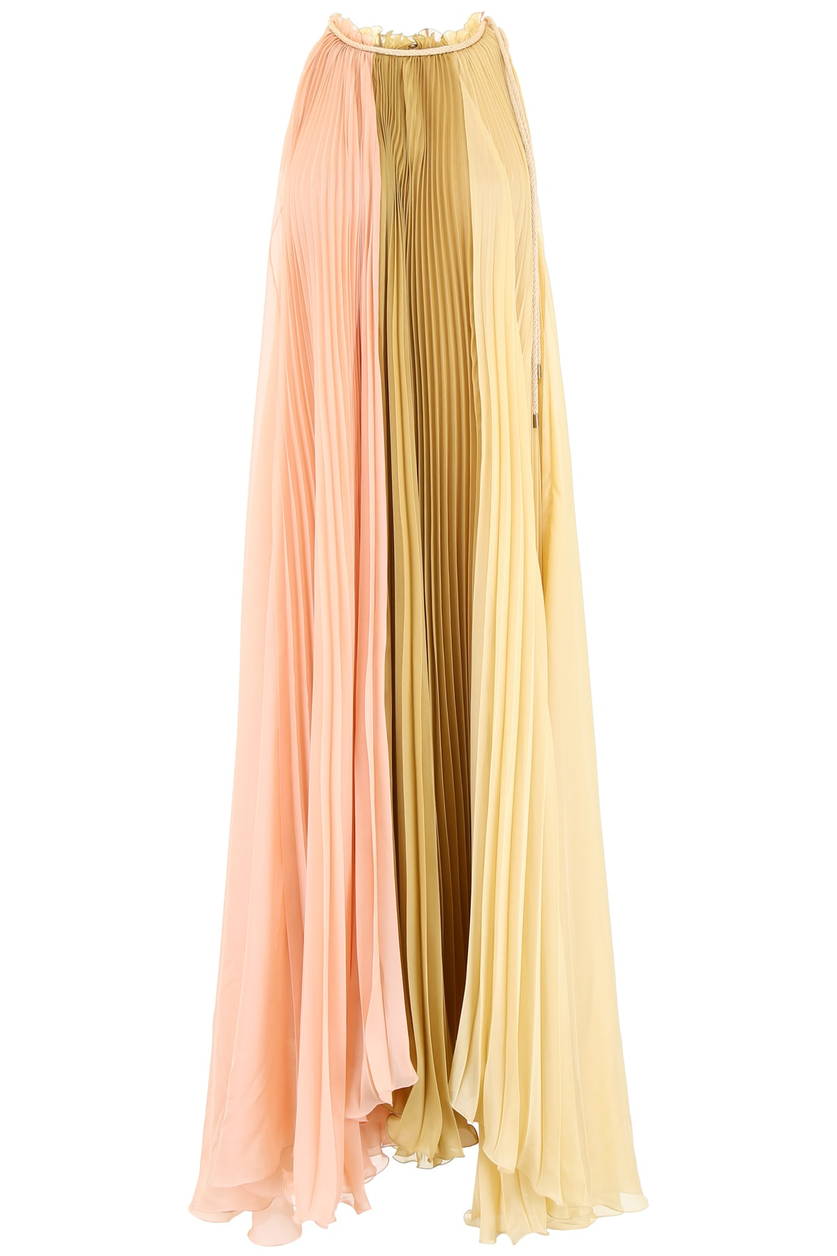 Alberta Ferretti Pleated Dress