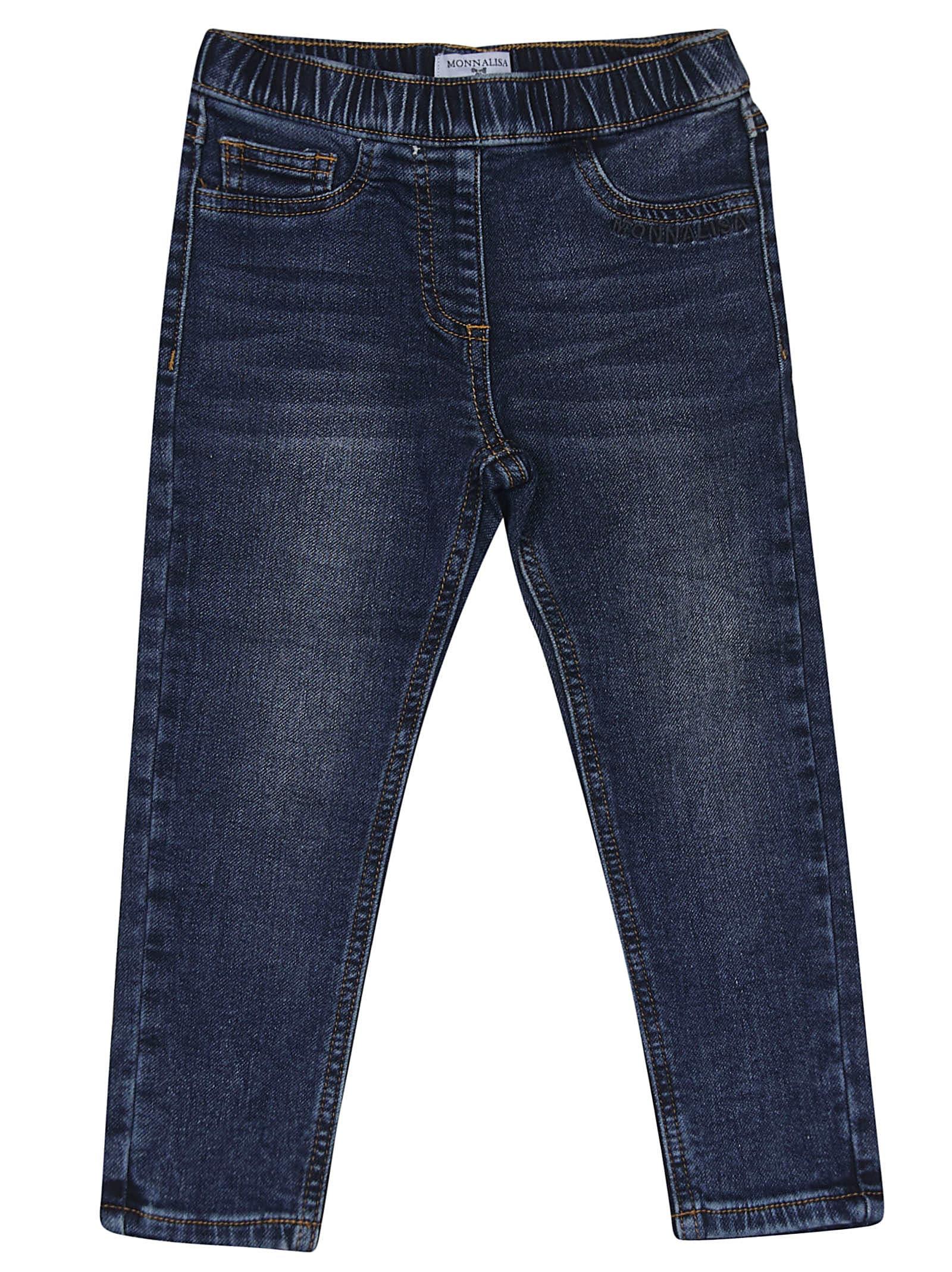 Elasticated Waistband Jeans