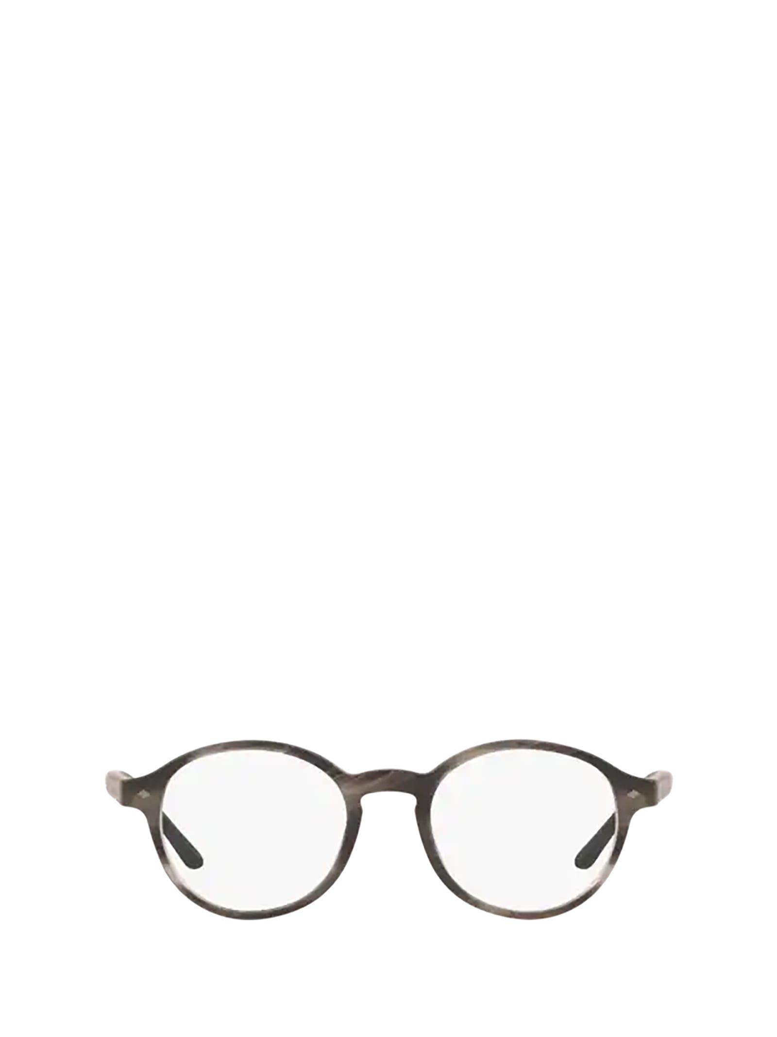 Giorgio Armani Giorgio Armani Ar7004 Matte Striped Grey Glasses
