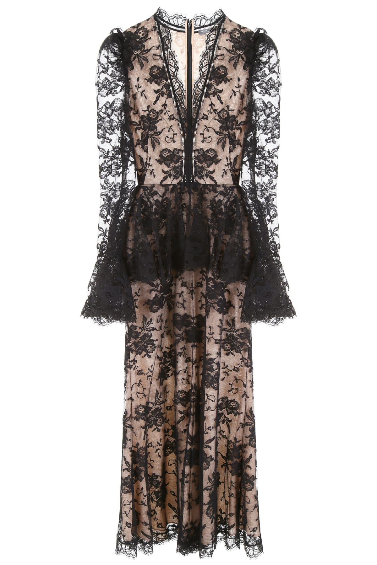 Buy Alexander McQueen Lace Dress online, shop Alexander McQueen with free shipping
