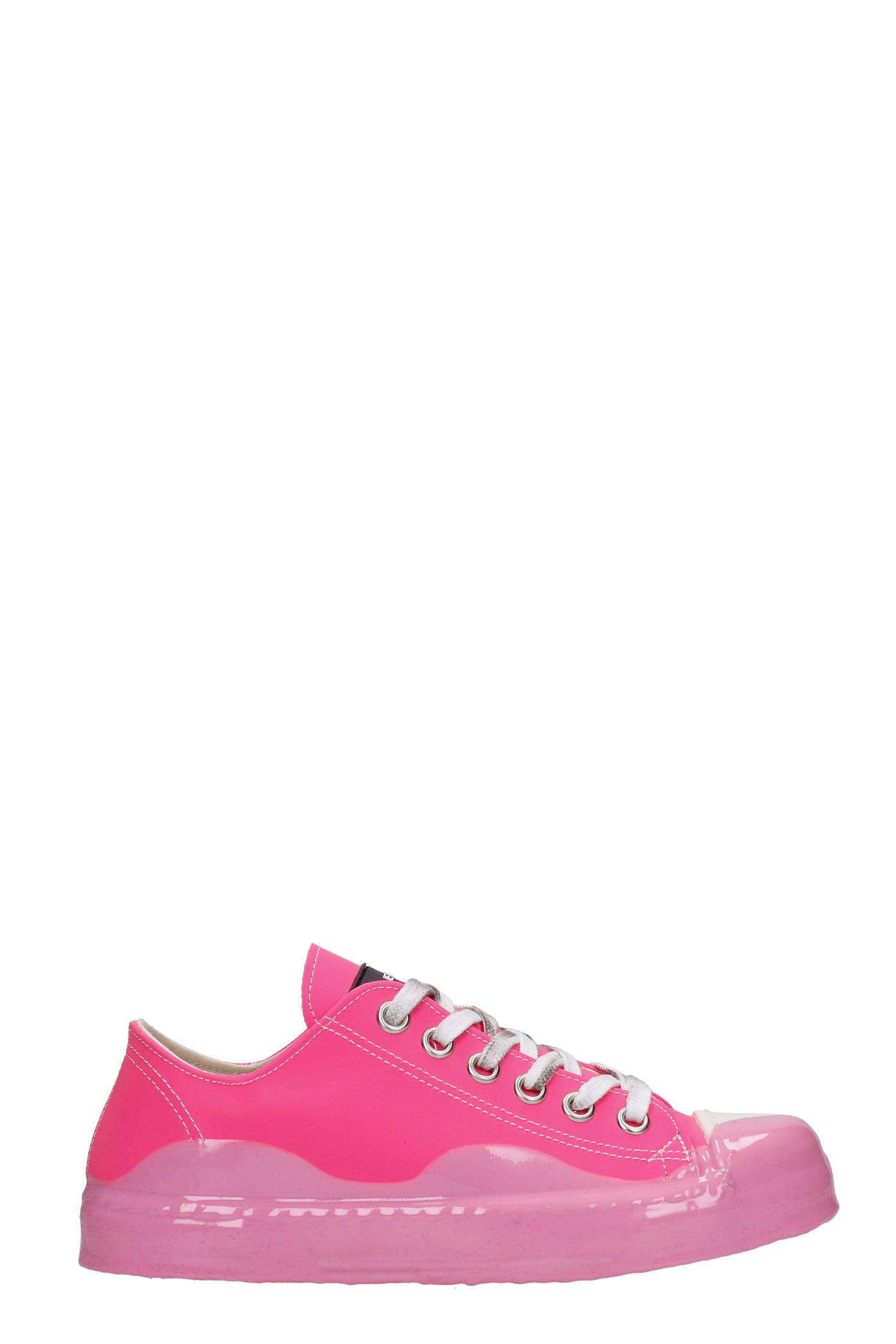 J.m. Low Sneakers In Fuxia Synthetic Fibers