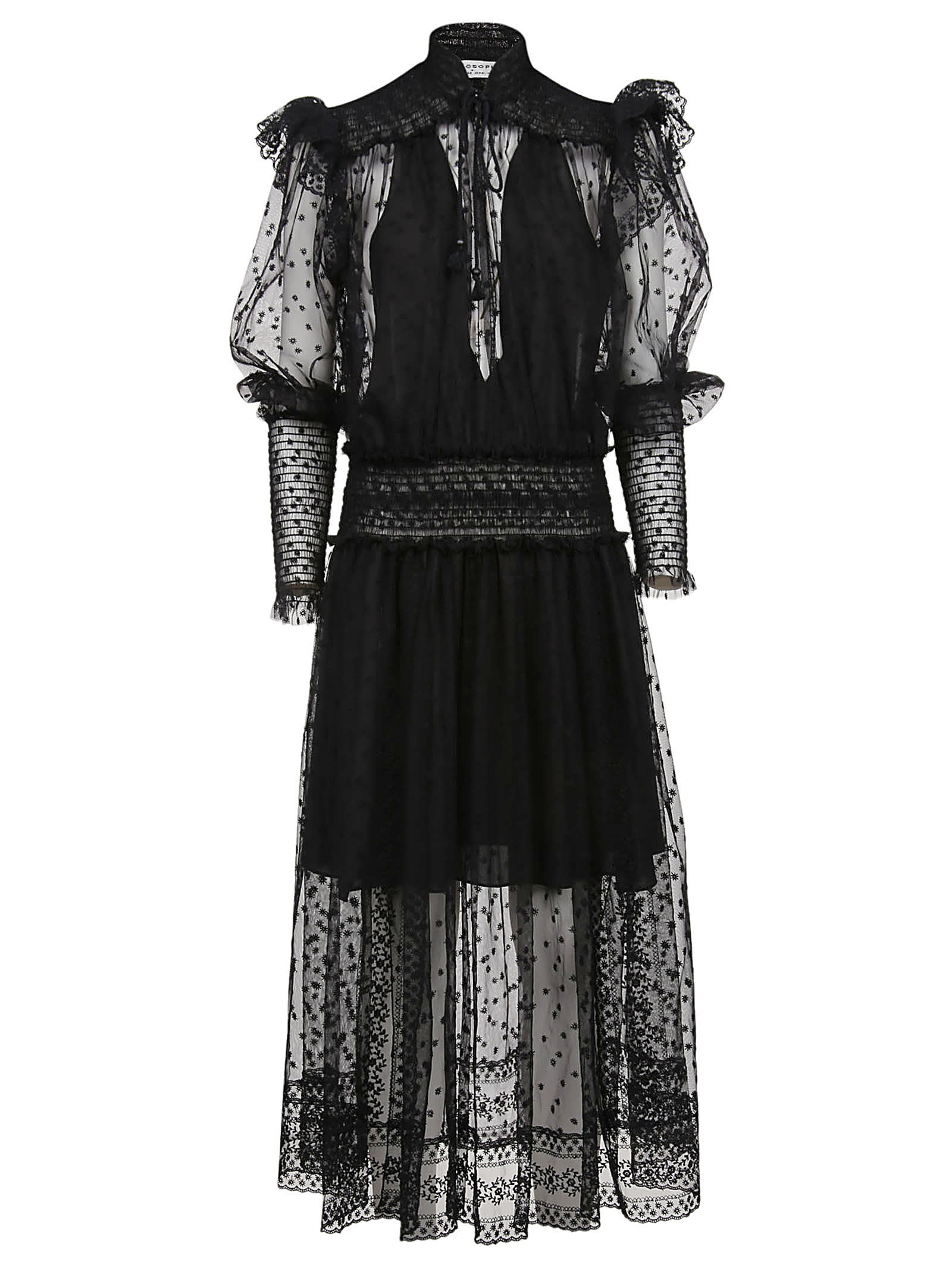 Philosophy di Lorenzo Serafini Lace Frill Dress