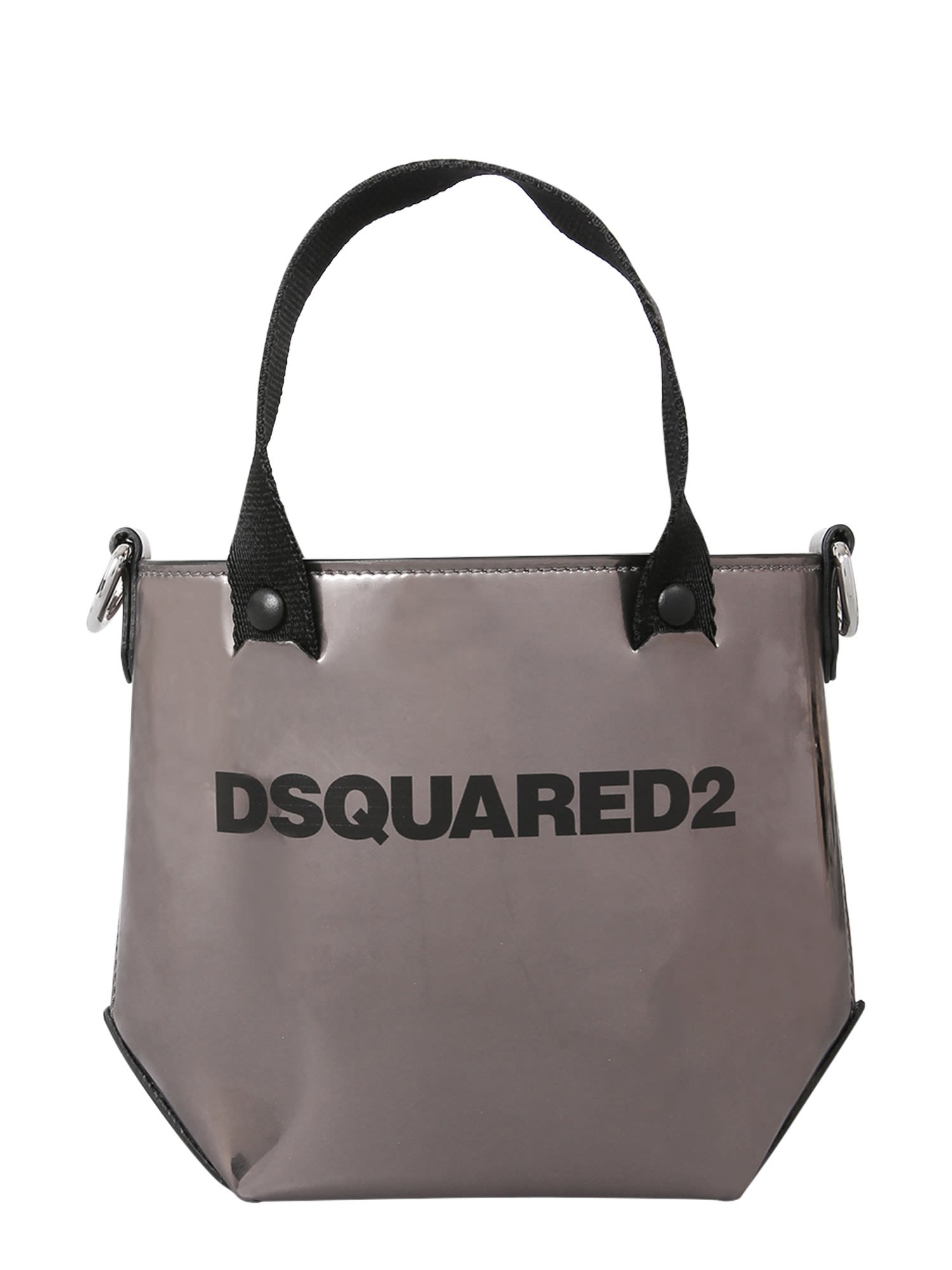 Dsquared2 Leathers MINI TOTE BAG WITH LOGO