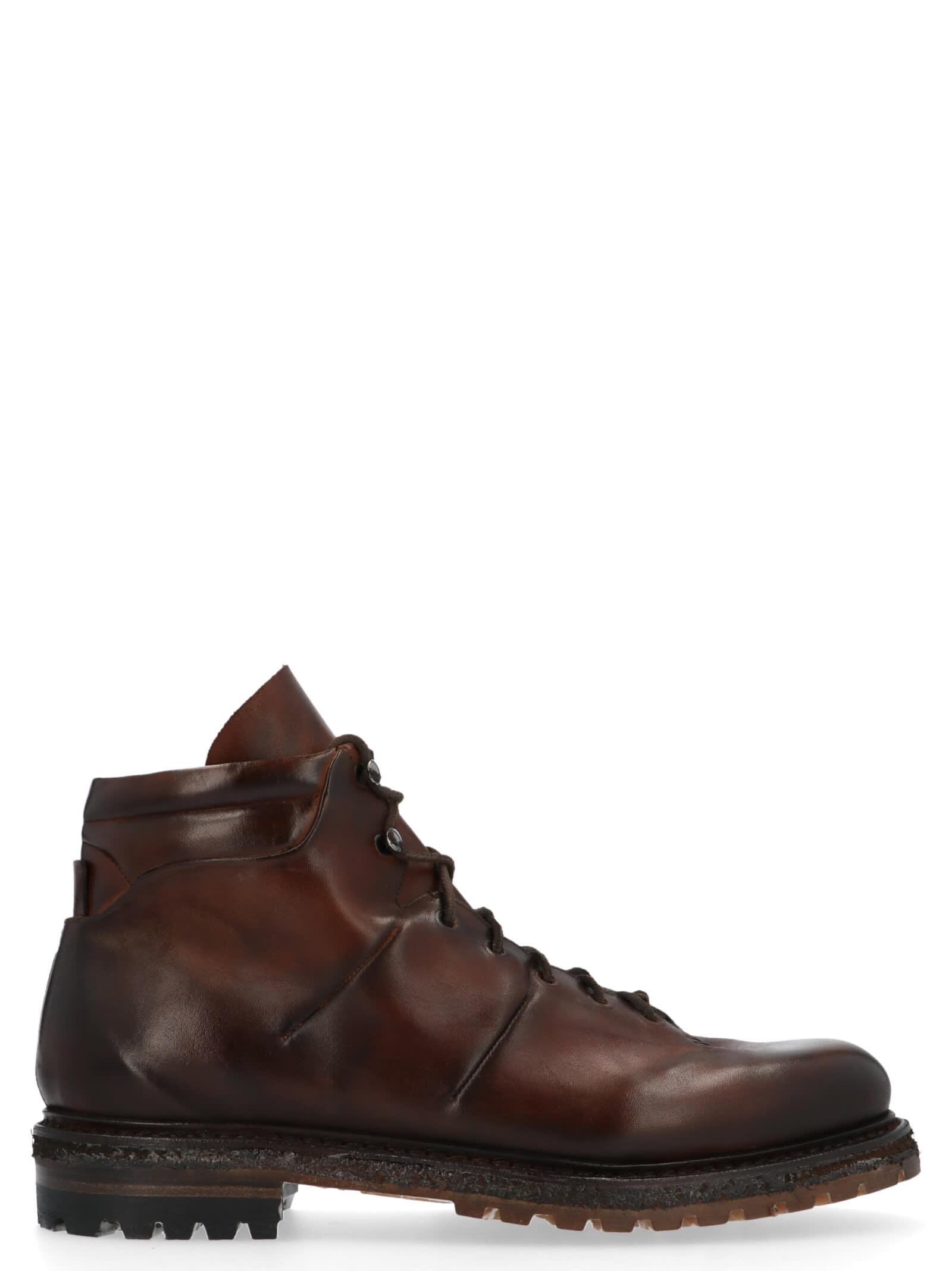 Silvano Sassetti trekking Shoes