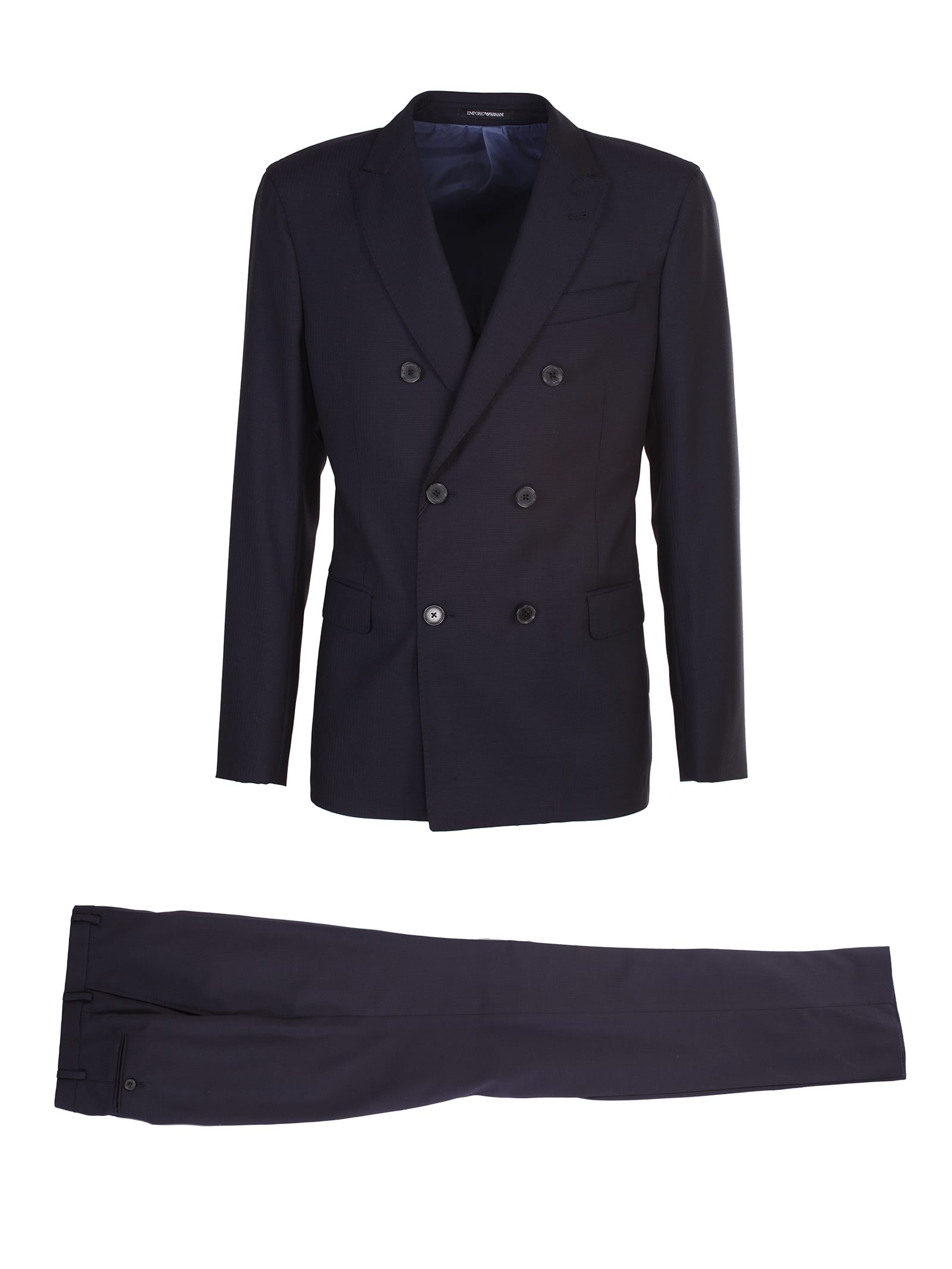 Emporio Armani basic double-breasted suit