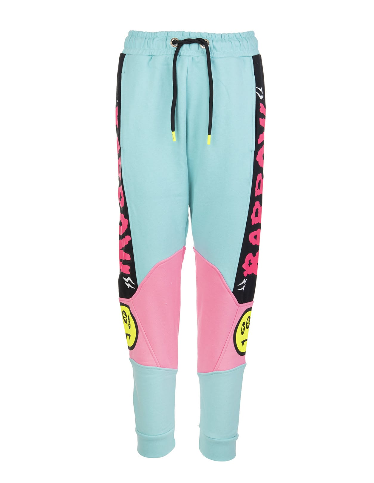 Barrow Clothing LOGO-PRINT TRACK PANTS