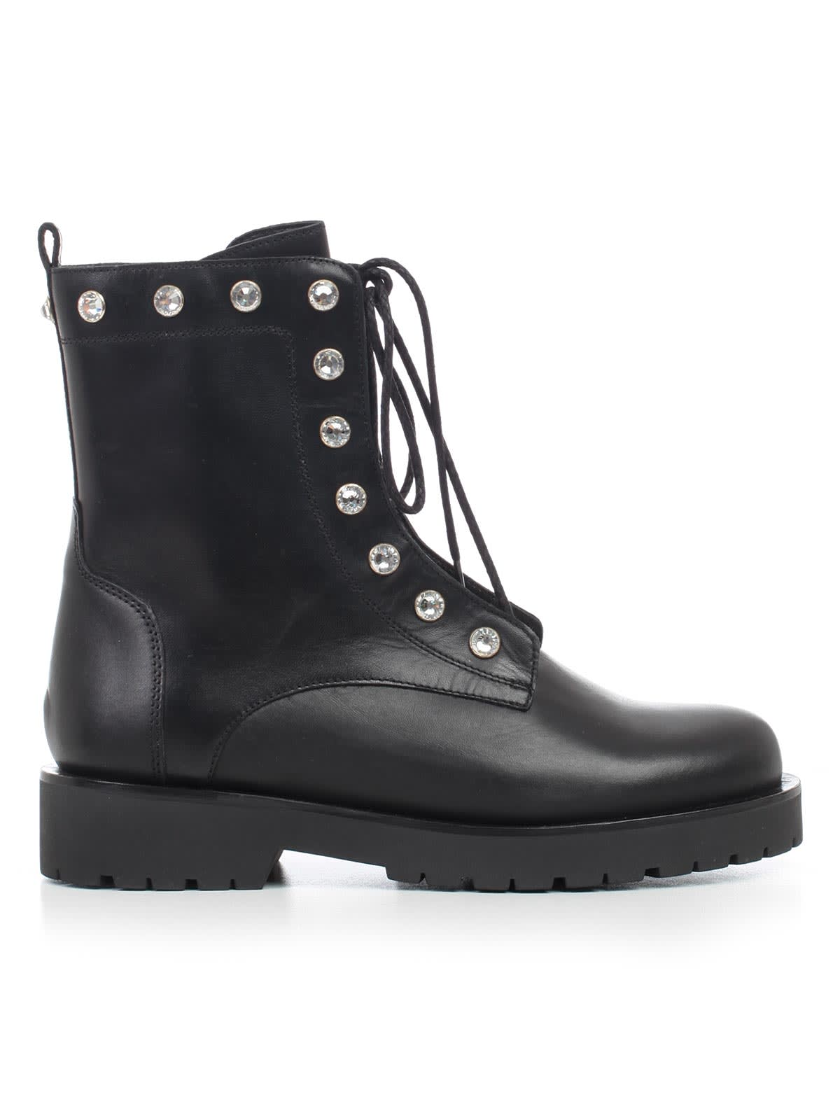 official photos 77402 8d24b TwinSet Ankle Boots W/studs