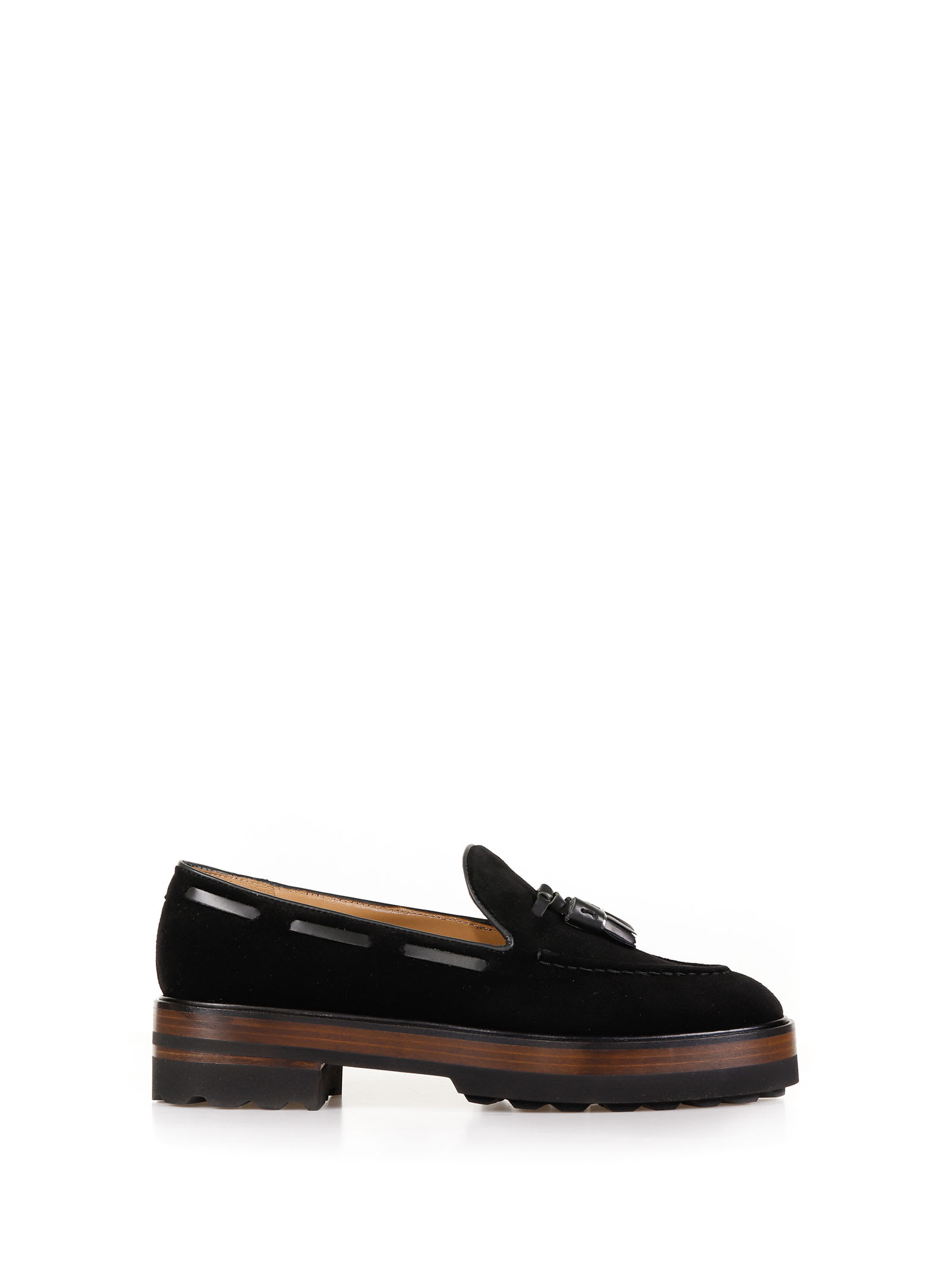 Platform Loafer With Tassels