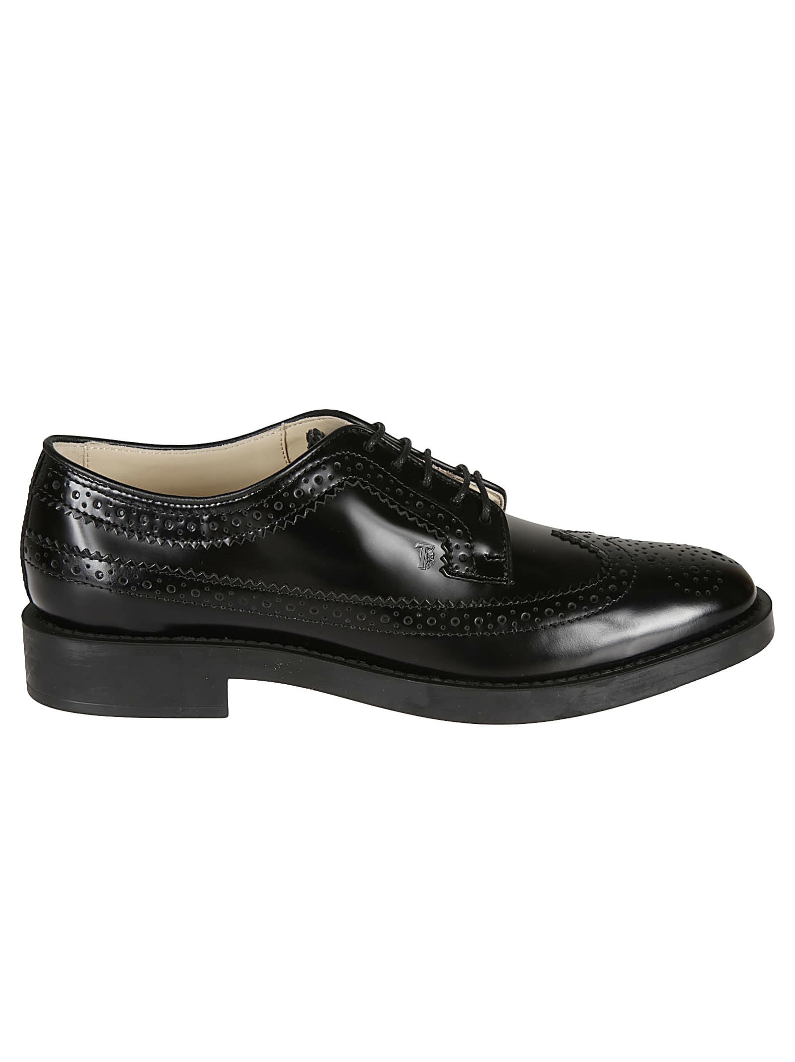 Tods Perforated Derby Shoes
