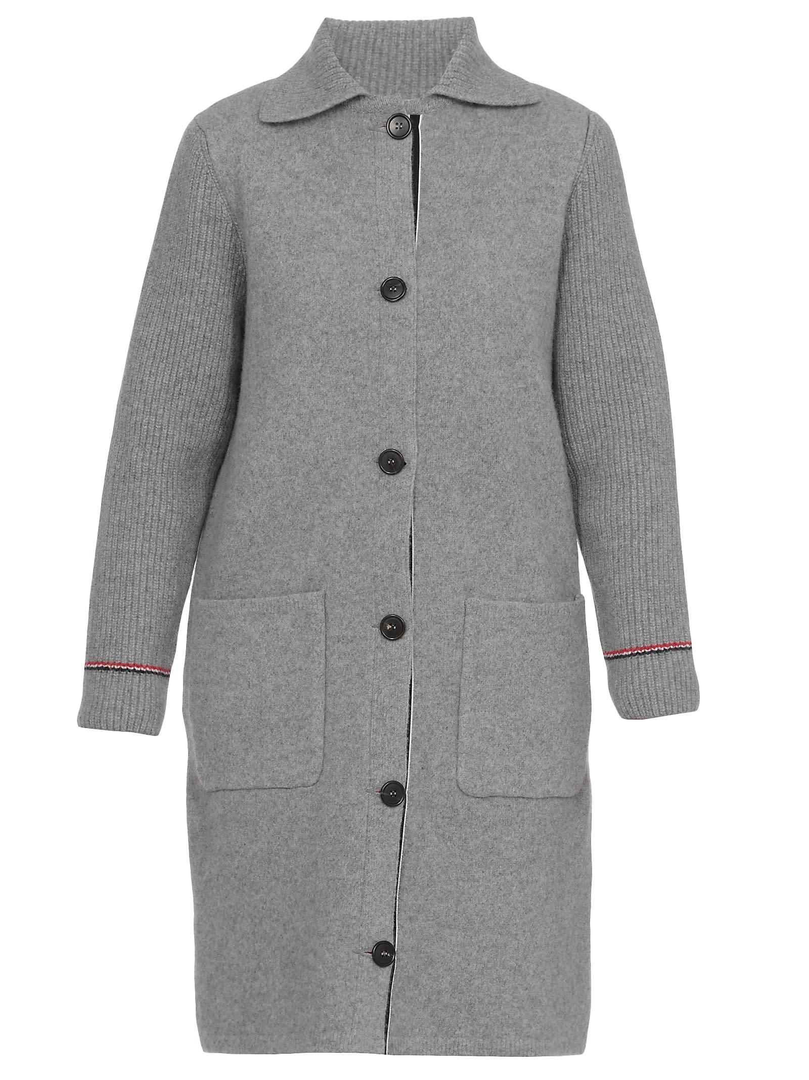 Thom Browne Single-breasted Coat