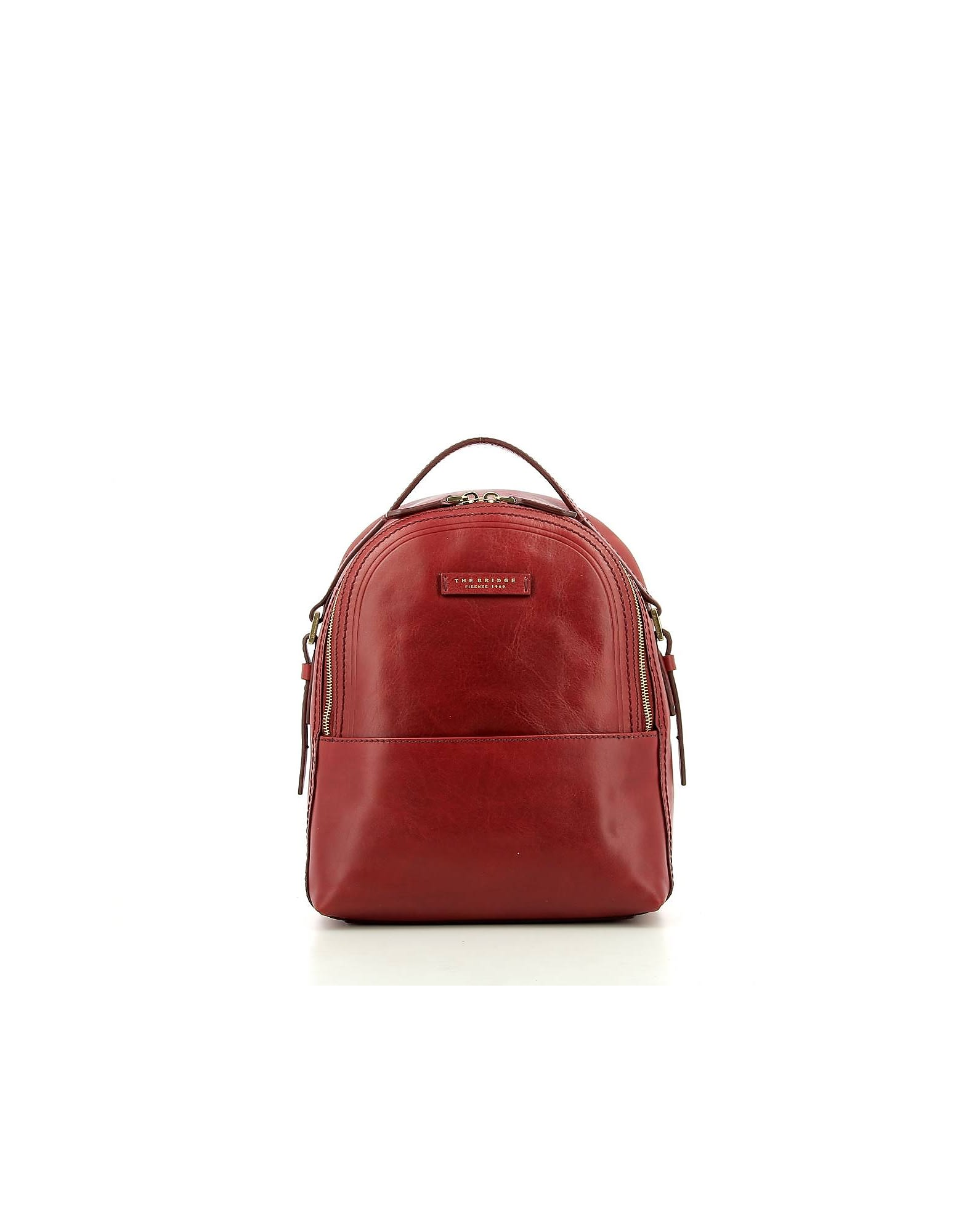 The Bridge WOMENS RED BACKPACK