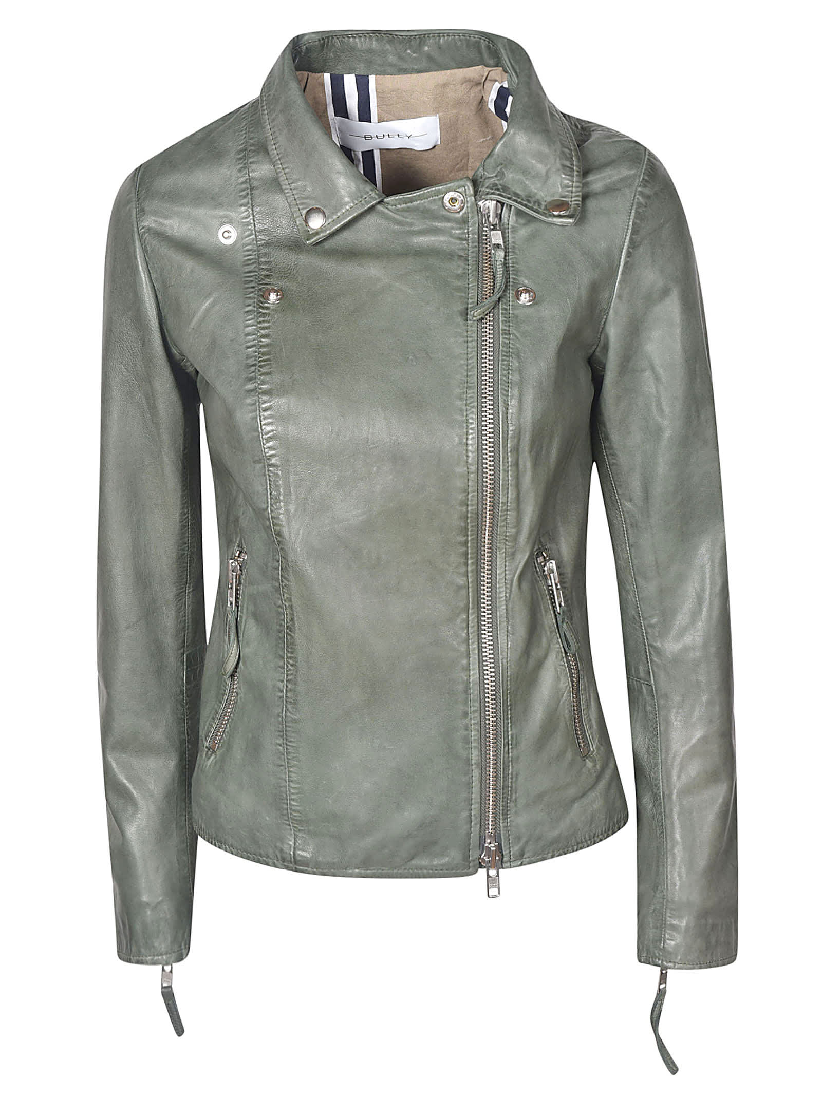 Bully Zip Biker Jacket