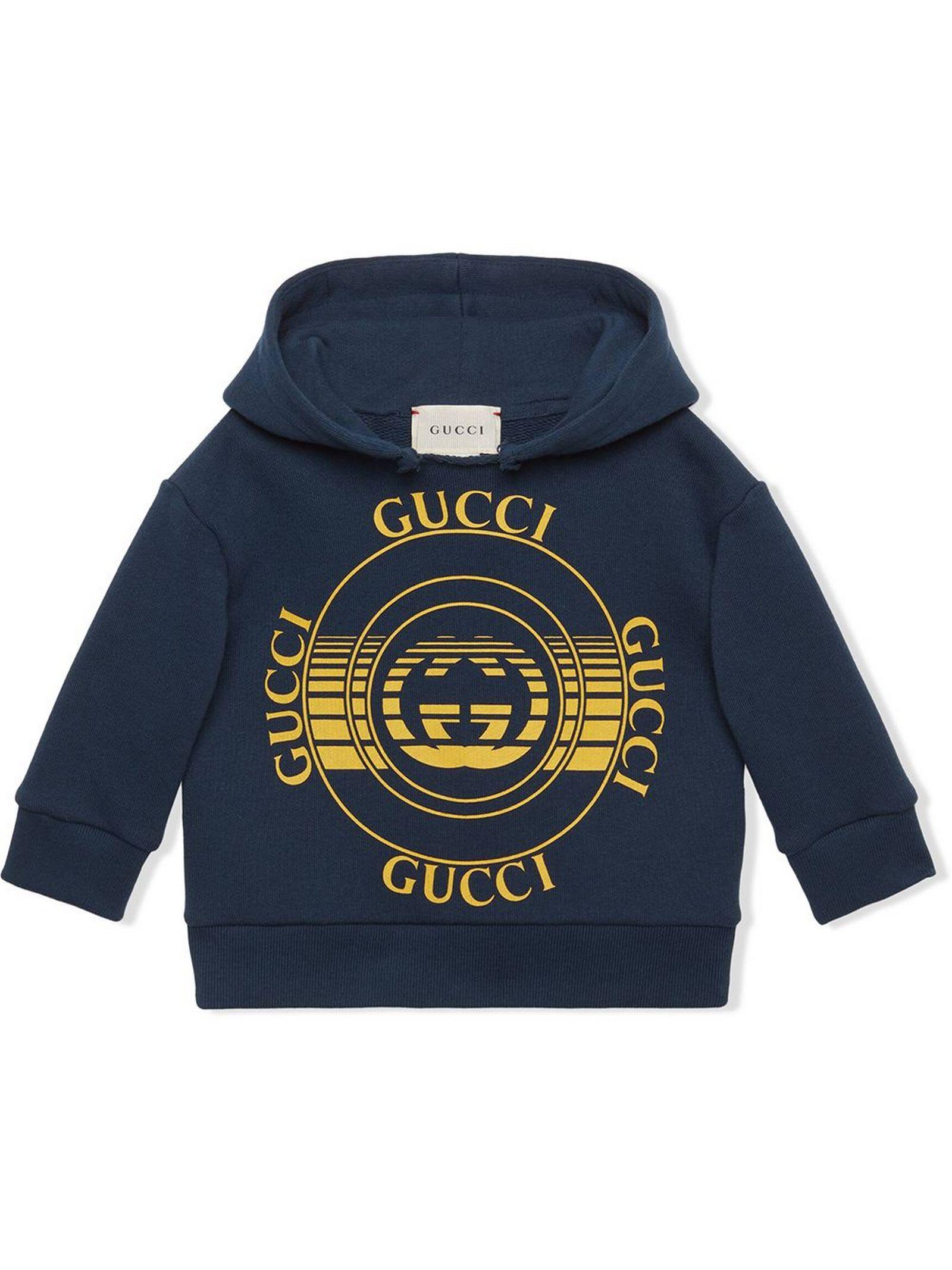 Gucci Cottons DISK PRINT SWEATSHIRT