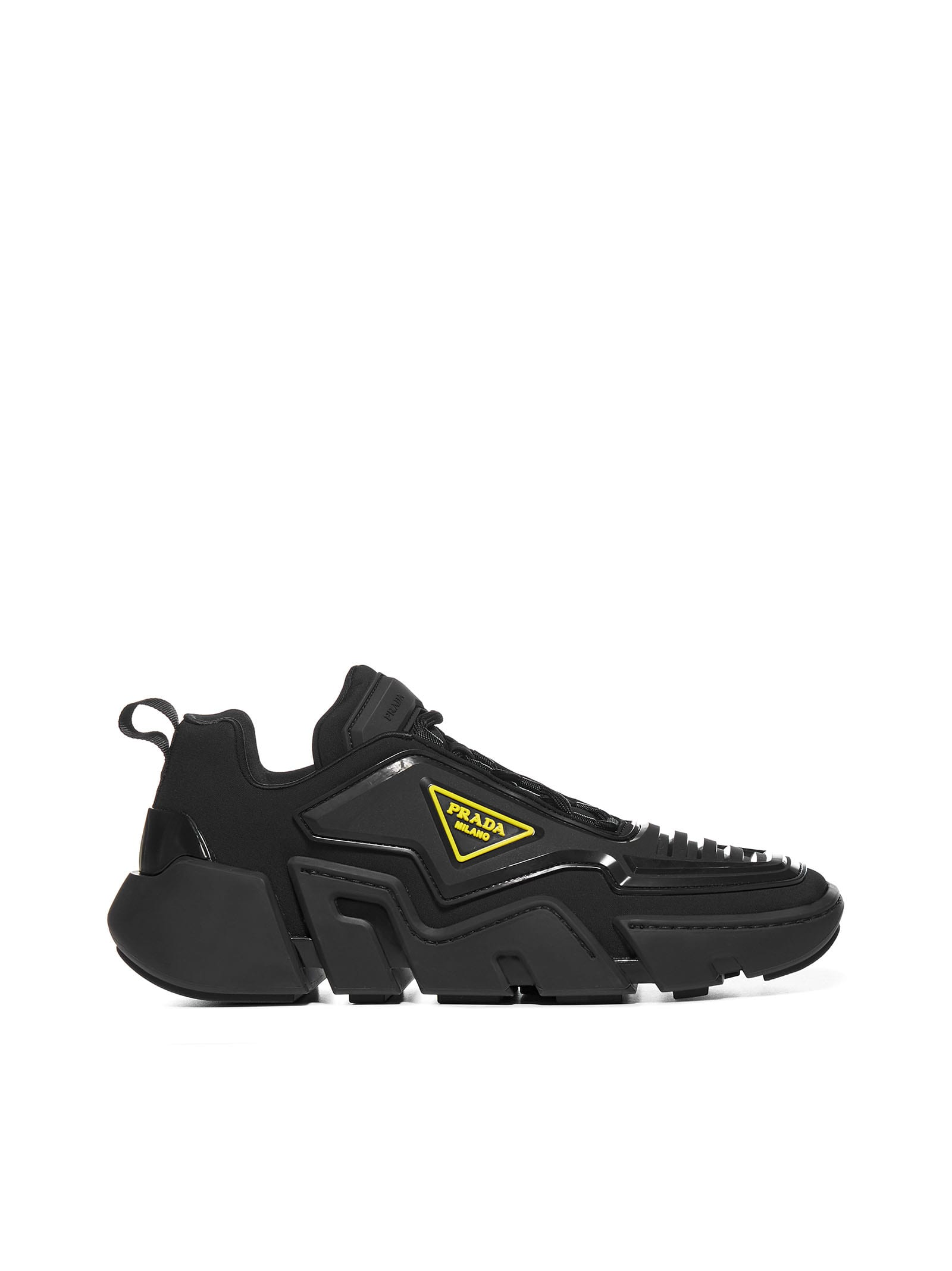 Prada Techno Stretch Fabric Sneakers